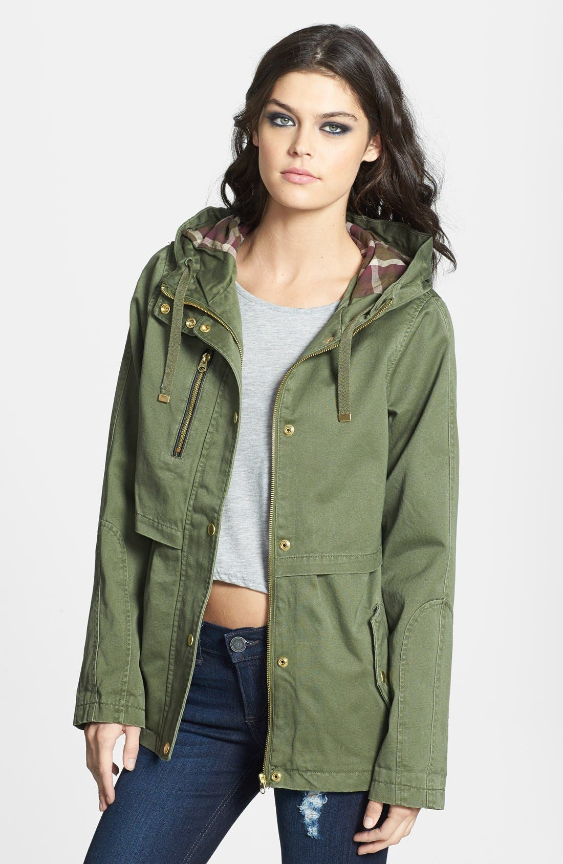 Alternate Image 1 Selected - Topshop 'Wilbert' Lightweight Parka