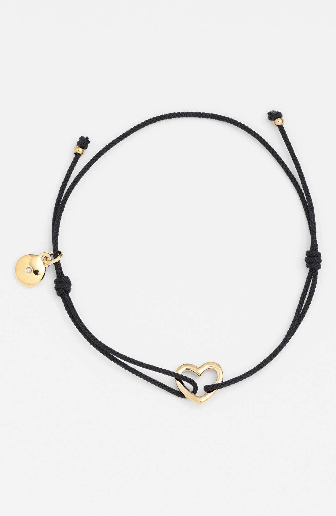 Alternate Image 1 Selected - MARC BY MARC JACOBS Heart Station Friendship Bracelet