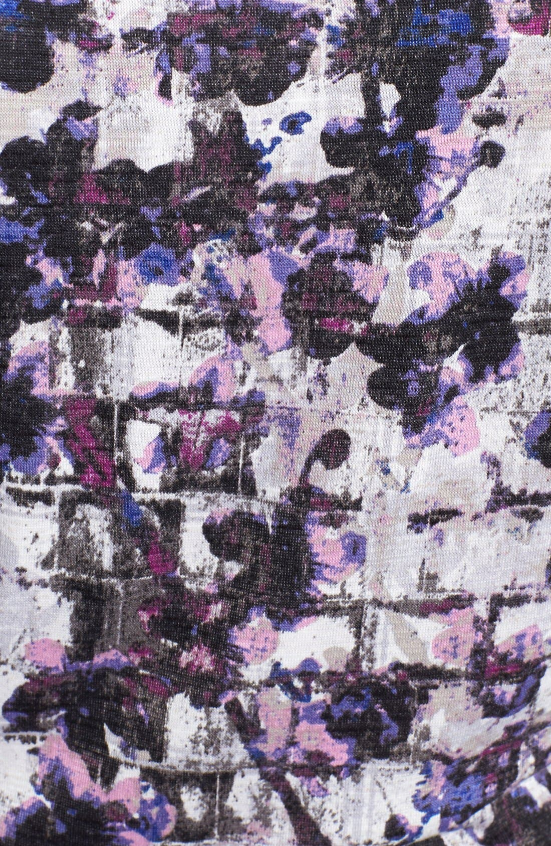 Alternate Image 3  - NIC+ZOE 'Fossilized Vines' Belted Jersey Dress