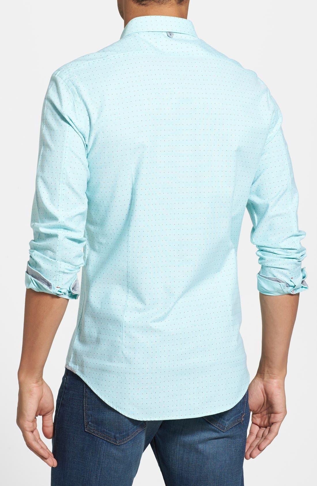Alternate Image 2  - 7 Diamonds 'Mint Condition' Dot Print Sport Shirt