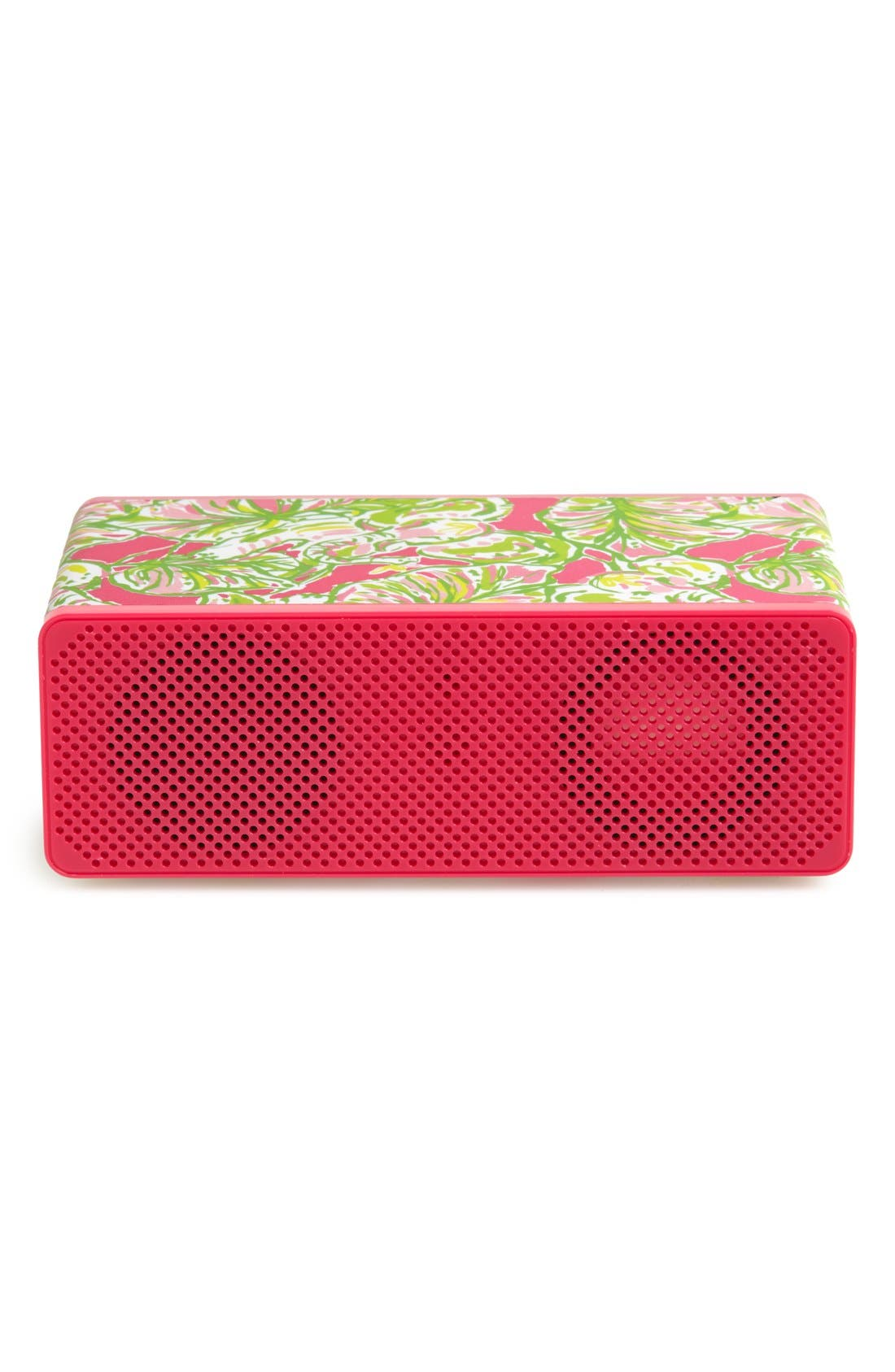 Alternate Image 1 Selected - Lilly Pulitzer® 'Elephant Ear' Wireless Bluetooth® Speaker