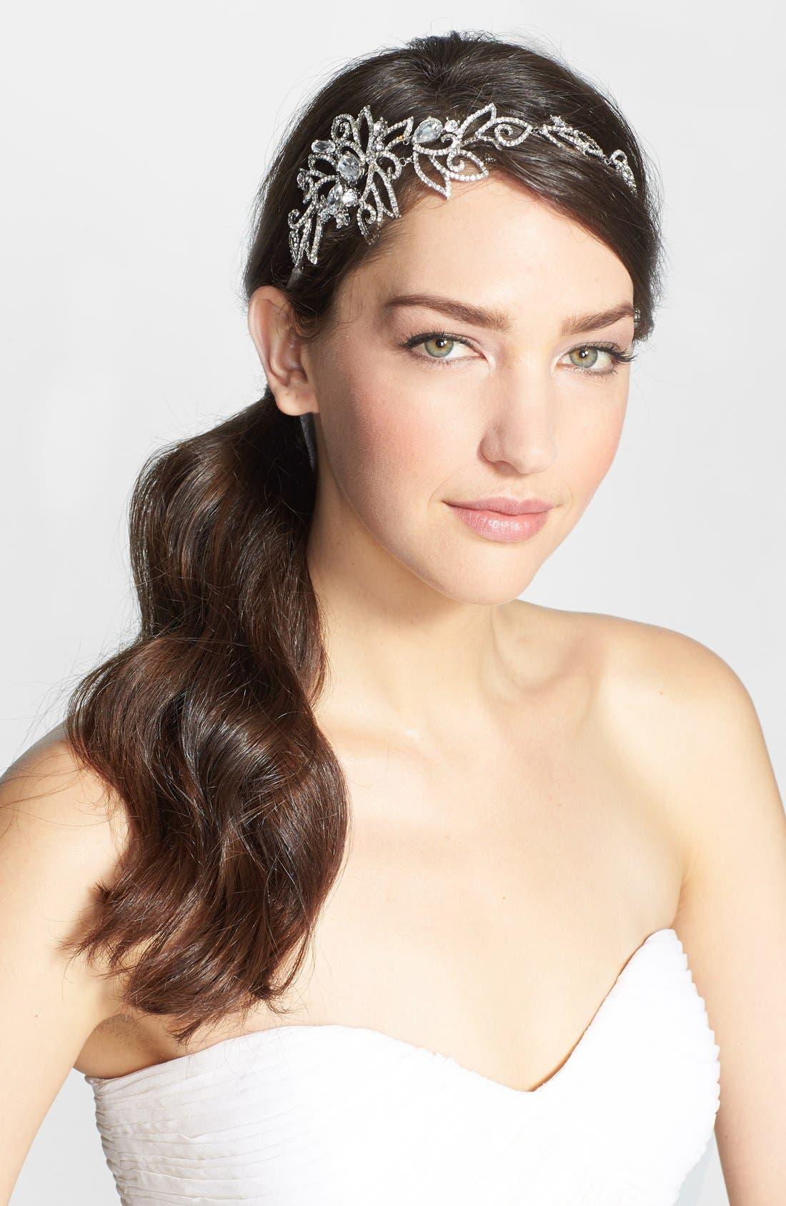 Alternate Image 1 Selected - Nina Crystal Head Wrap