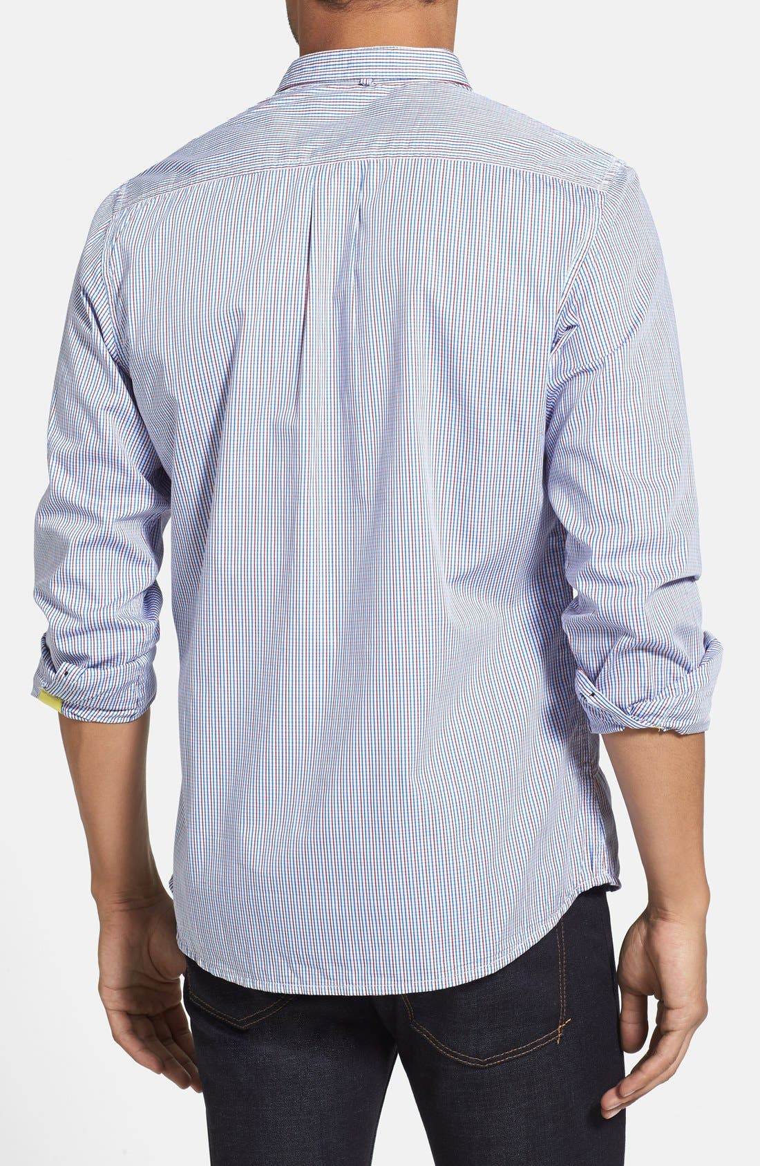 Alternate Image 2  - Descendant of Thieves Slim Fit Multi Check Shirt