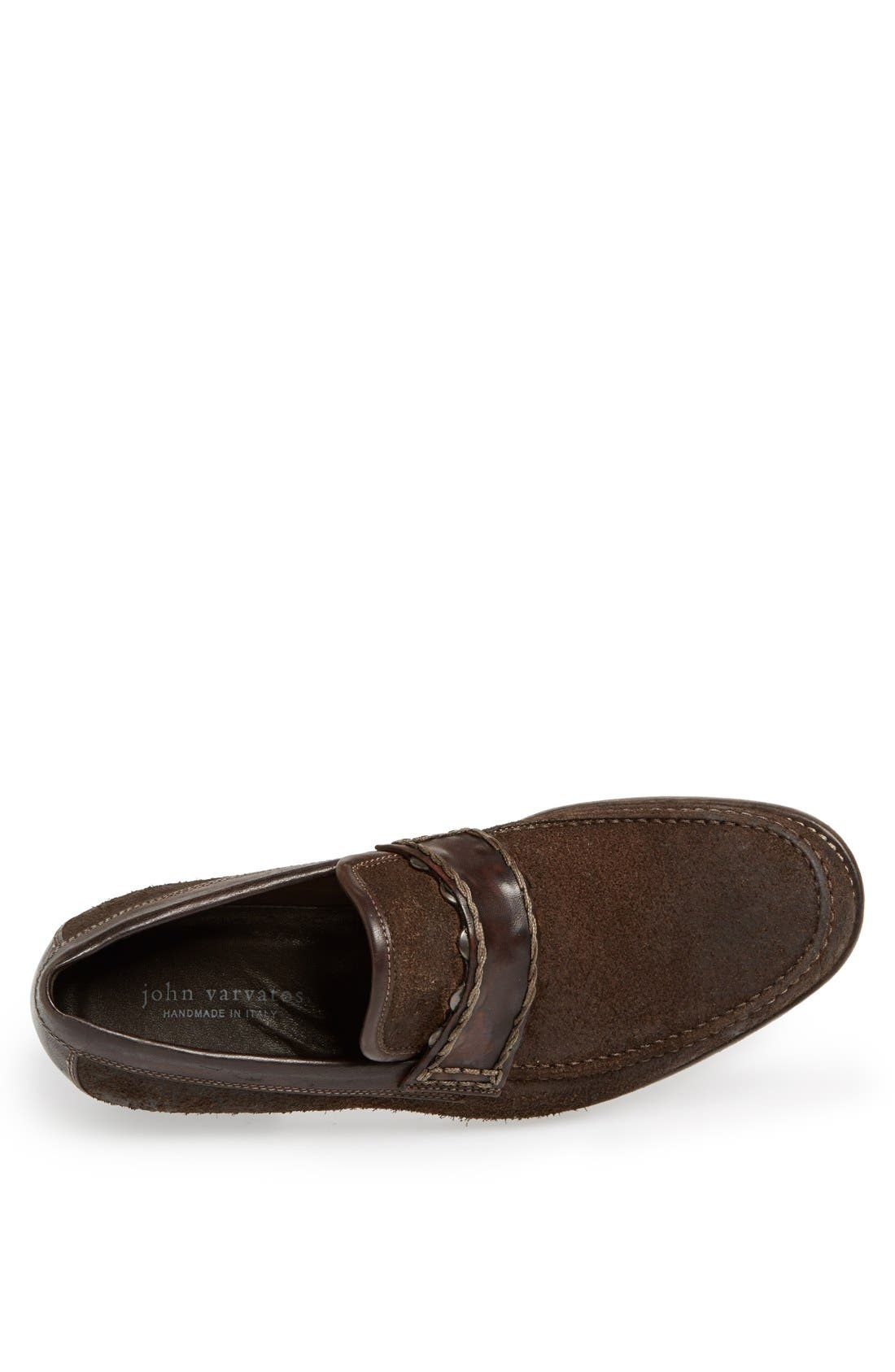 Alternate Image 3  - John Varvatos Collection 'Ludwig Signature' Penny Loafer