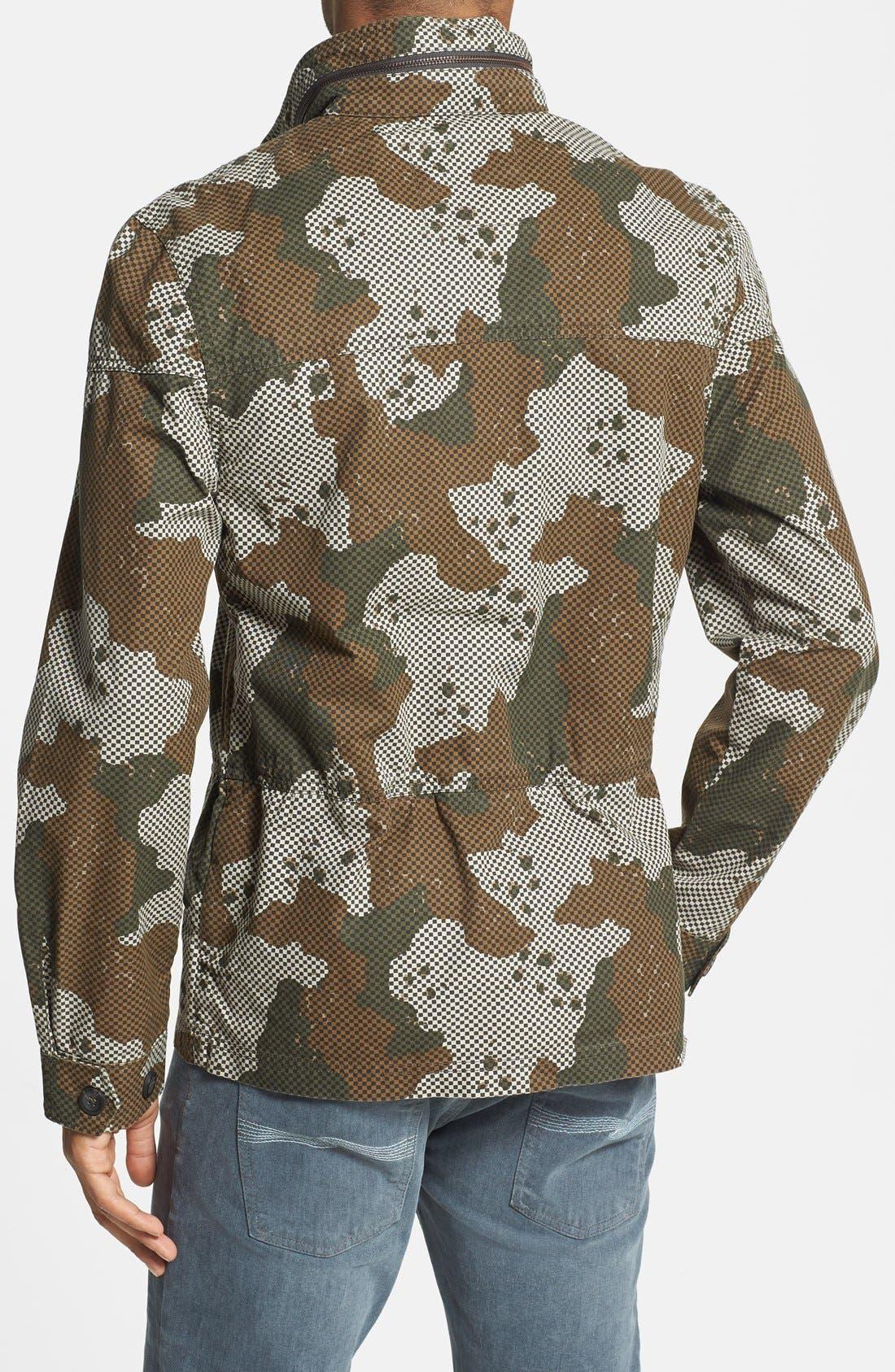 Alternate Image 2  - Levi's® Check & Camo Print Field Jacket