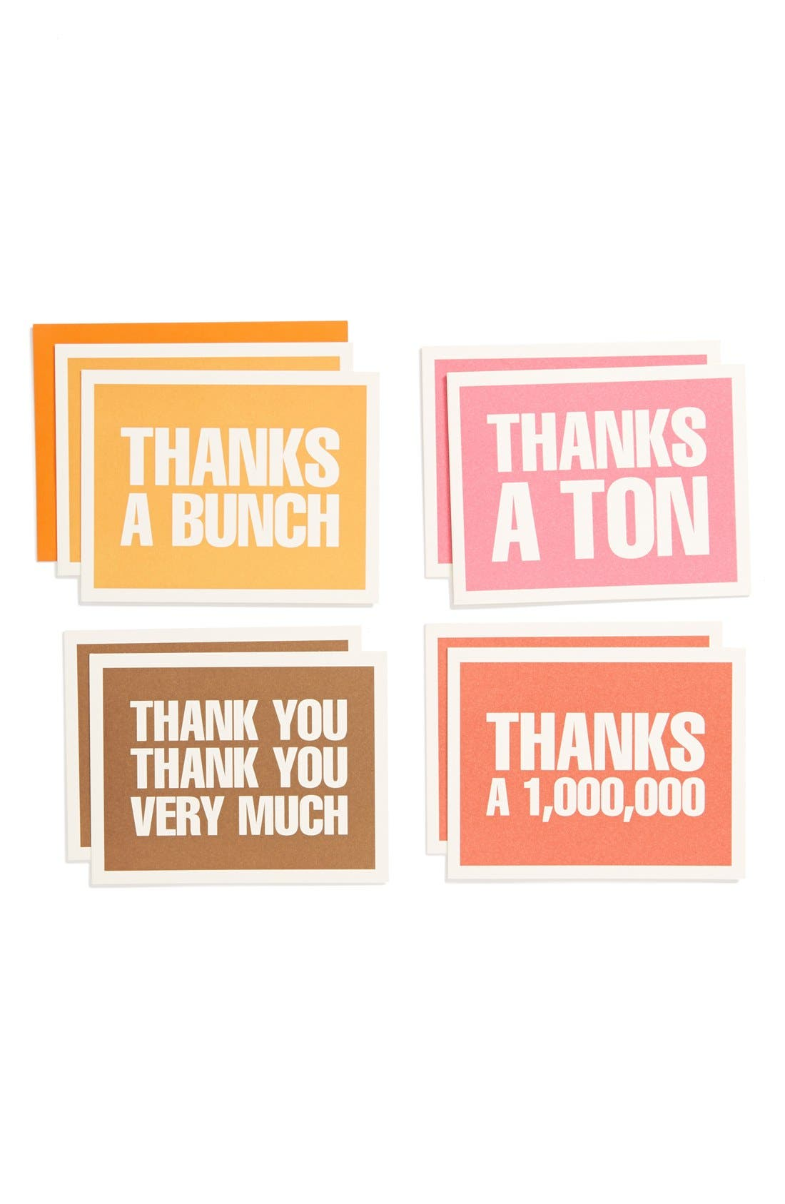 Main Image - Bob's Your Uncle 'Thanks a Bunch' Thank You Cards