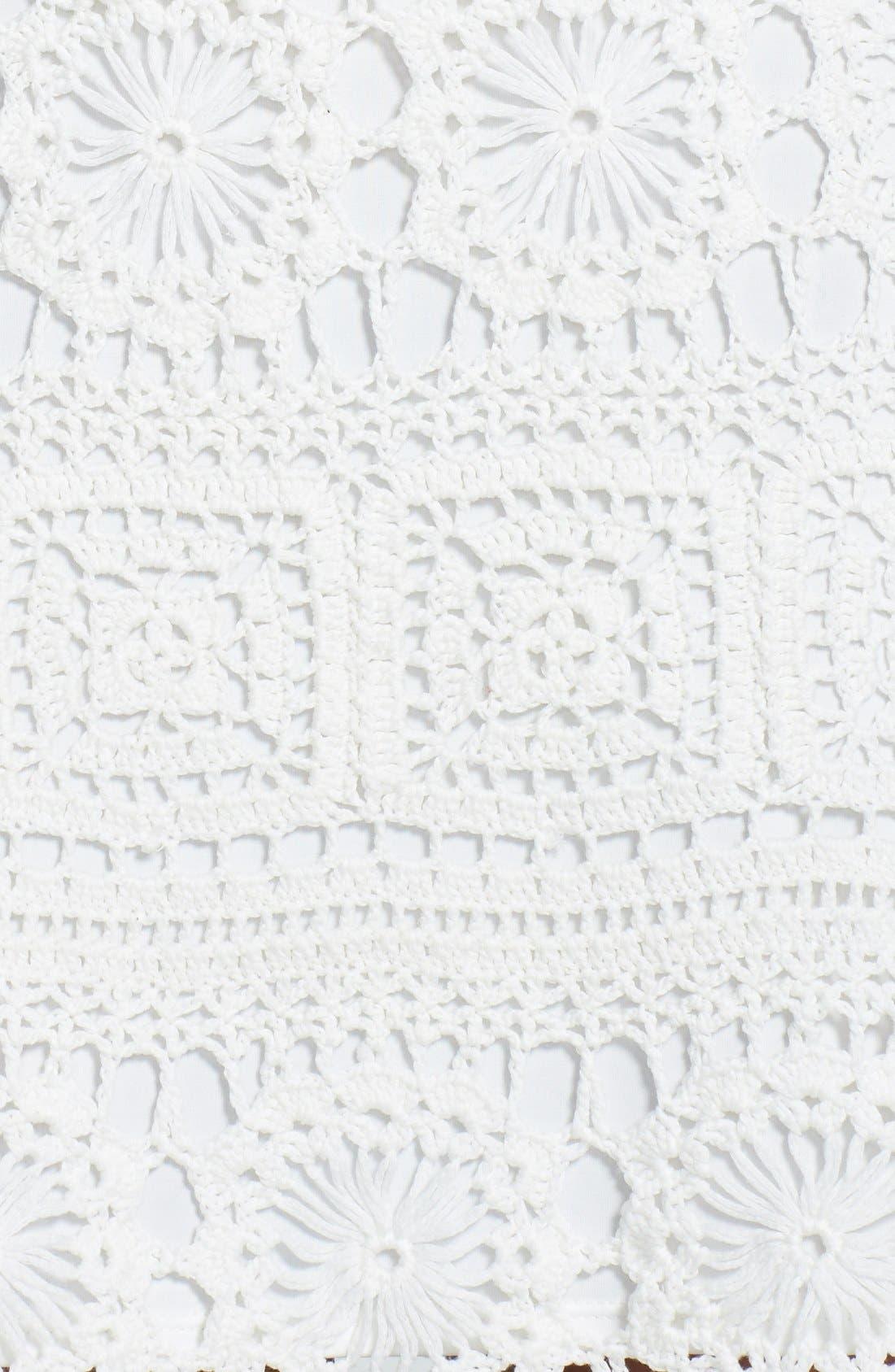 Alternate Image 4  - Trina Turk 'Lanai' Crochet Lace Dress