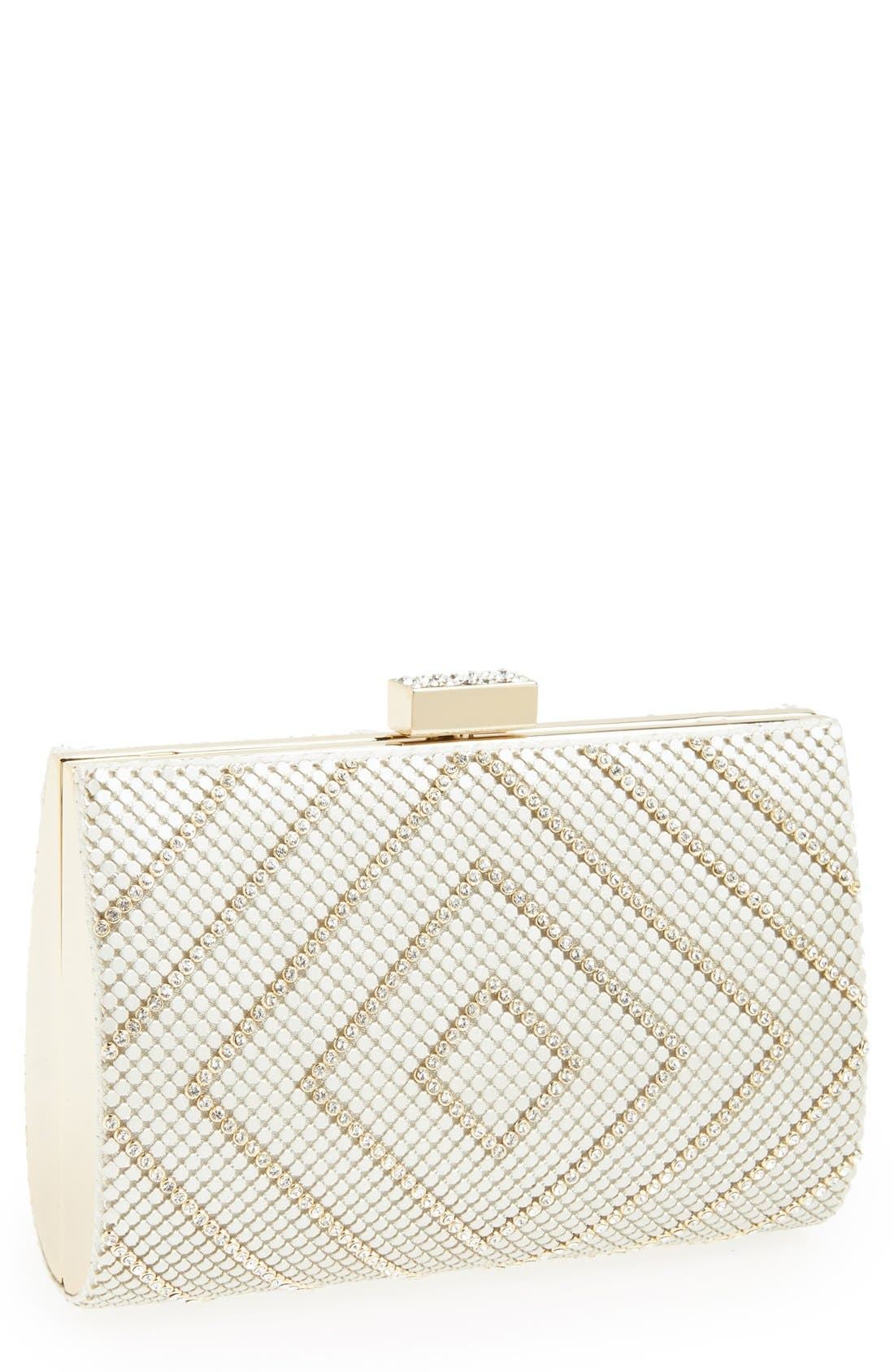 Alternate Image 1 Selected - Whiting & Davis 'Diamond Heights' Clutch