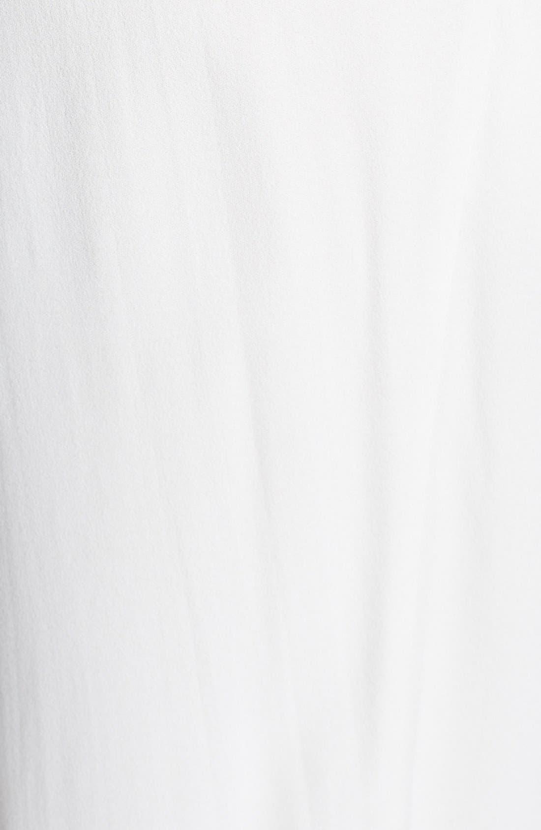 Alternate Image 3  - Eileen Fisher Pleated Silk Crop Pants (Plus Size)