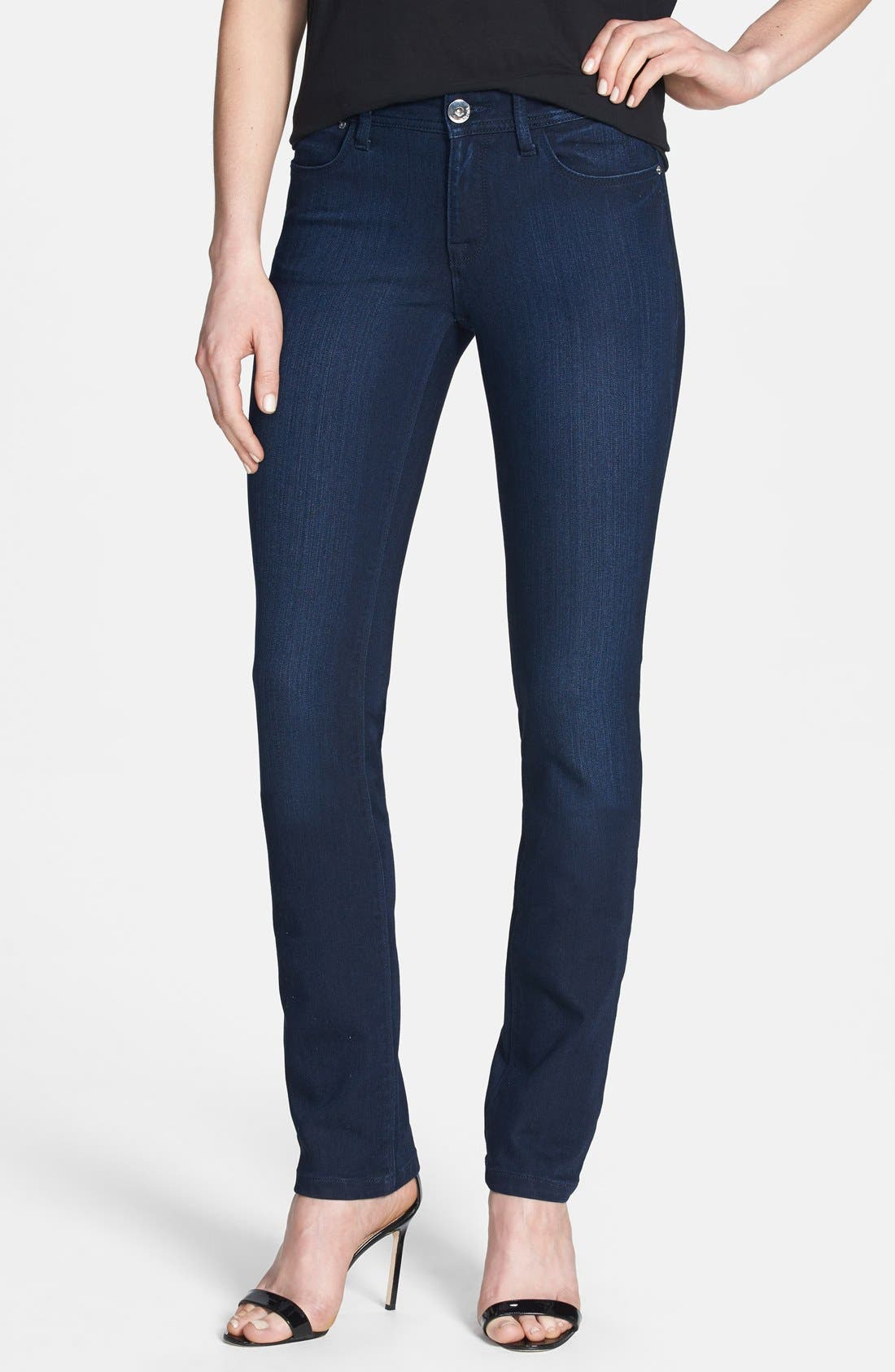 Main Image - DL1961 'Coco' Curvy Straight Jeans (Wooster)
