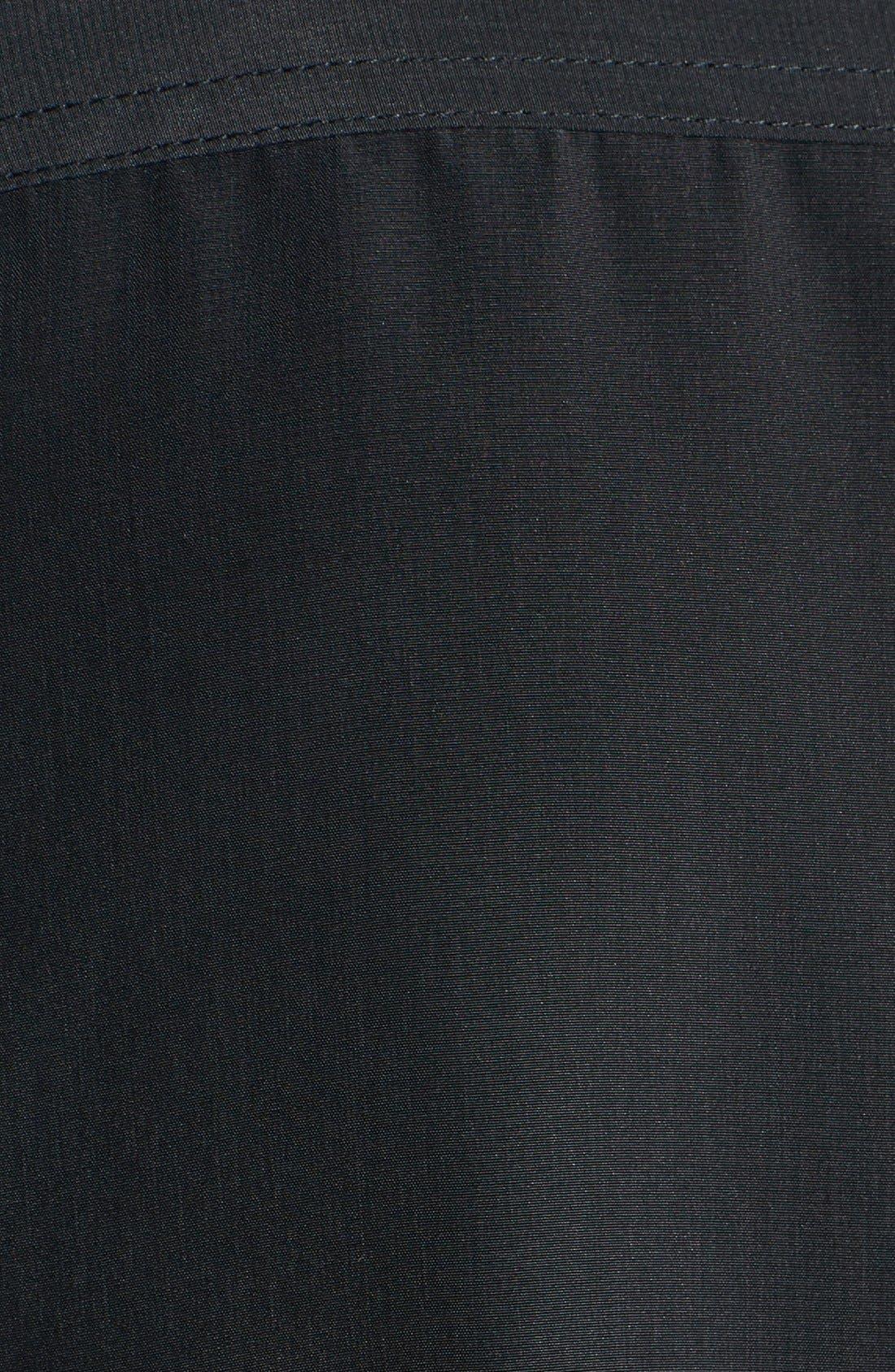 Alternate Image 3  - Caslon® Print Drawstring Waist Dress (Regular & Petite)