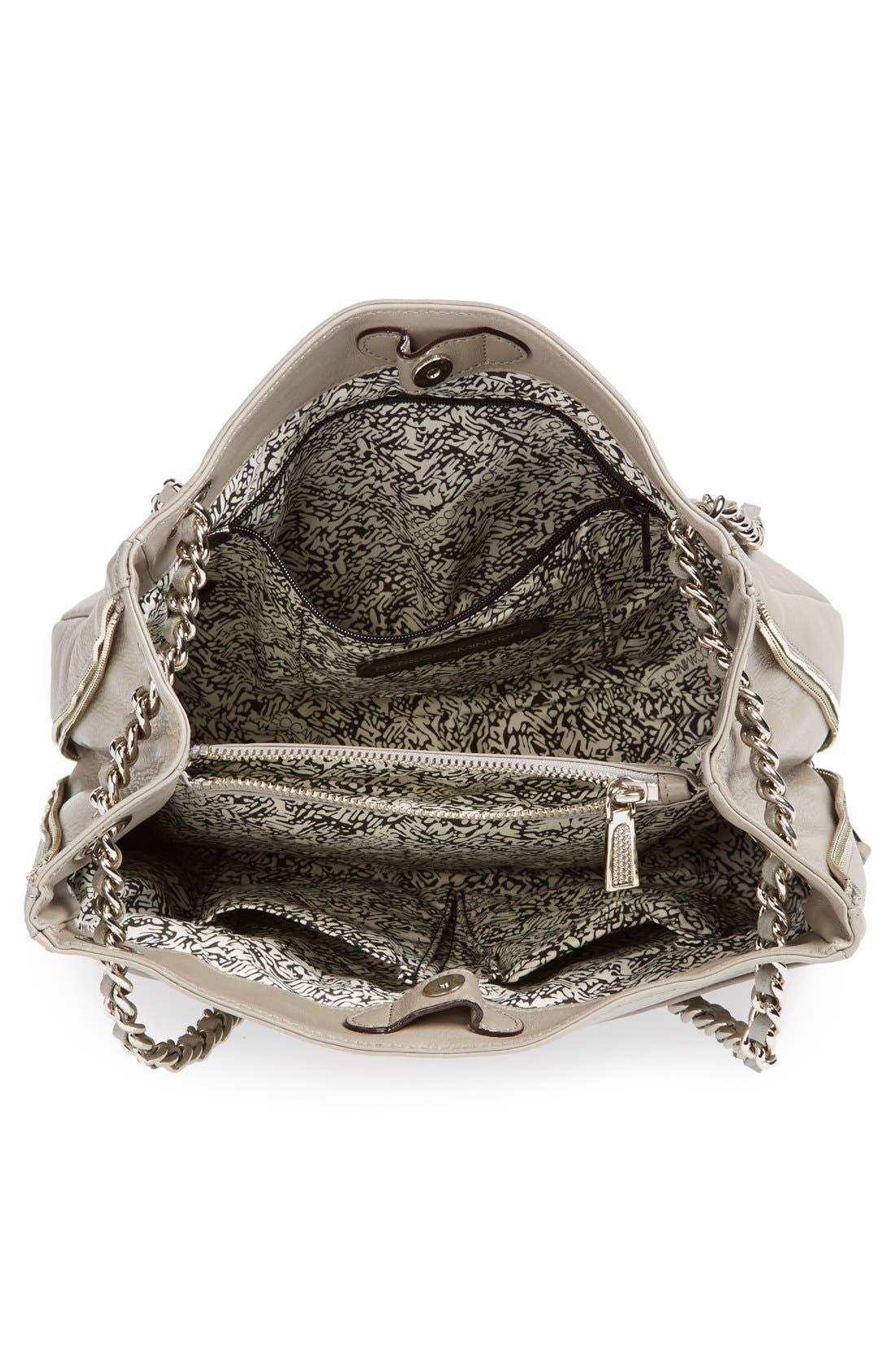 Alternate Image 3  - Rebecca Minkoff 'Swing' Double Chain Leather Shoulder Bag