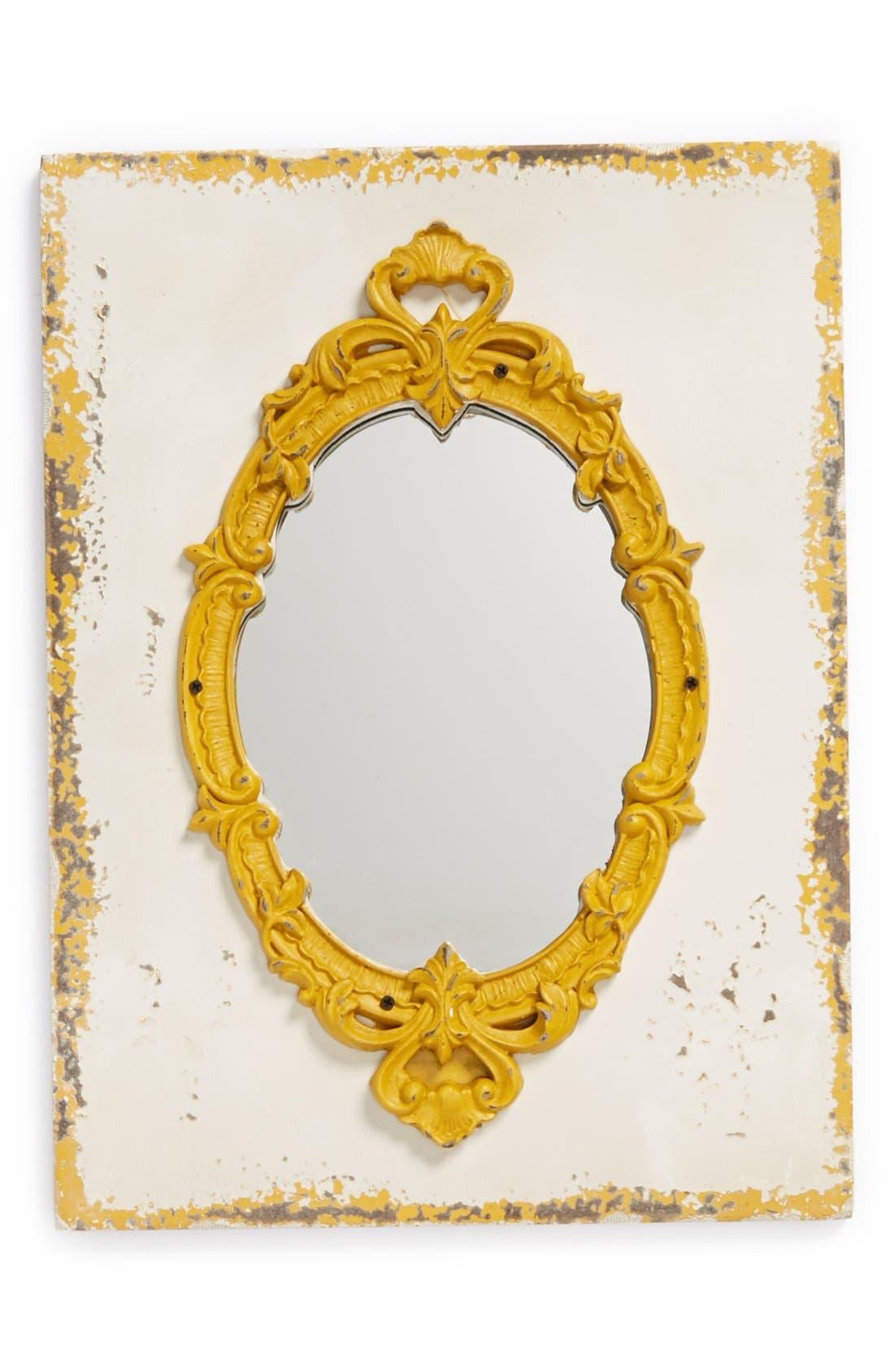 Main Image - VIP International Rustic Wood Mounted Mirror