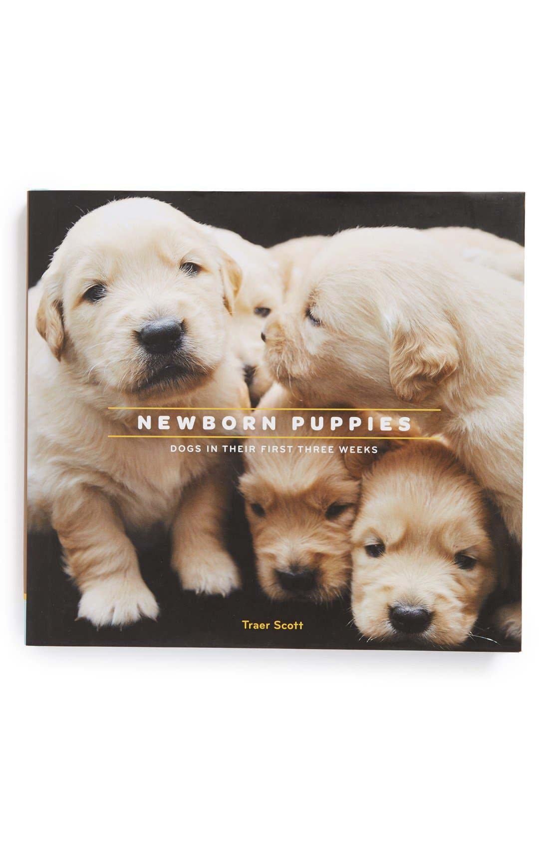 Alternate Image 1 Selected - 'Newborn Puppies' Book