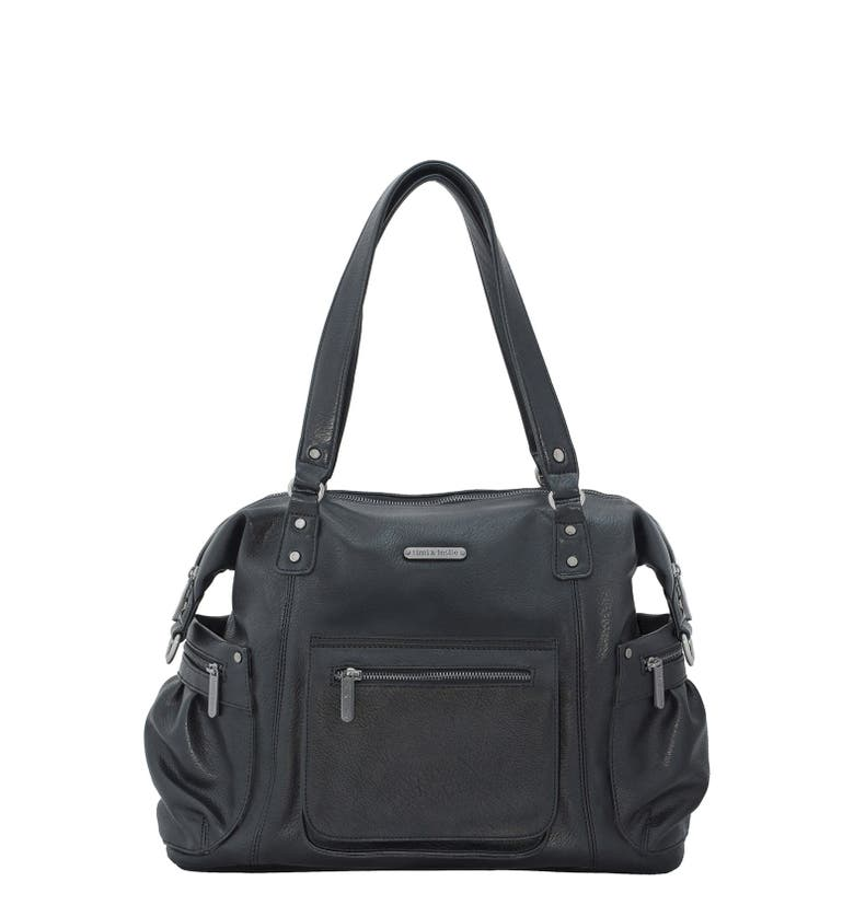 timi leslie 39 abby 39 faux leather diaper bag nordstrom. Black Bedroom Furniture Sets. Home Design Ideas
