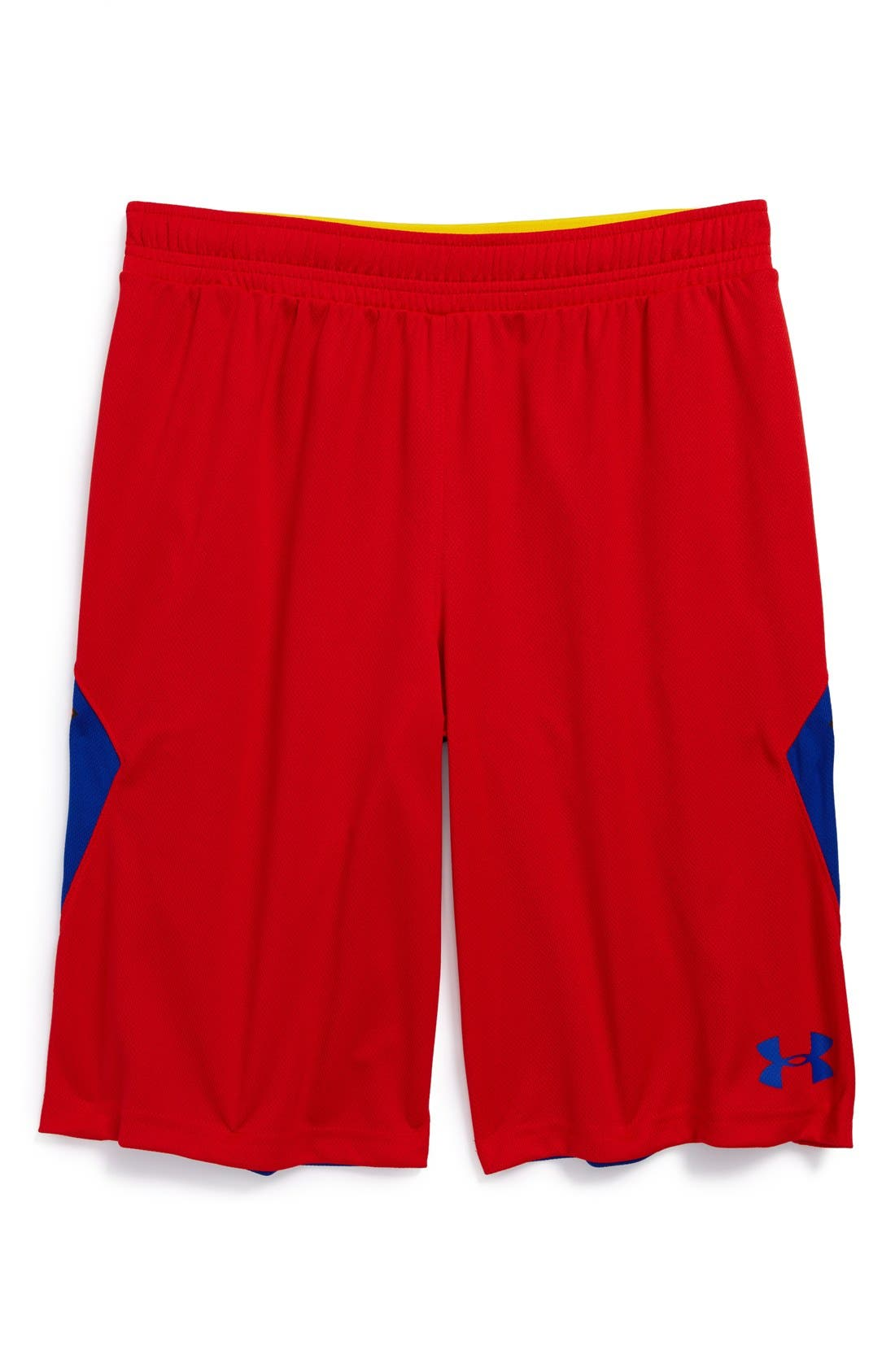 Alternate Image 2  - Under Armour 'Alter Ego - Superman' Shorts (Little Boys & Big Boys)