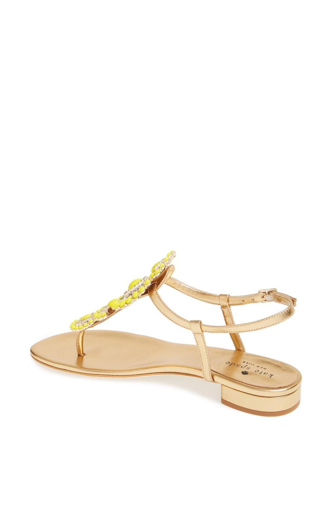 Alternate Image 2  - kate spade new york 'fiore' sandal