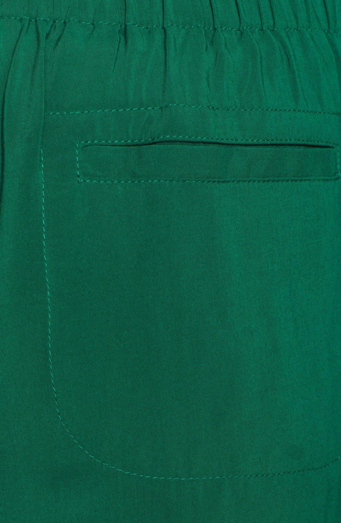 Alternate Image 3  - Free People Pleat Crop Pants