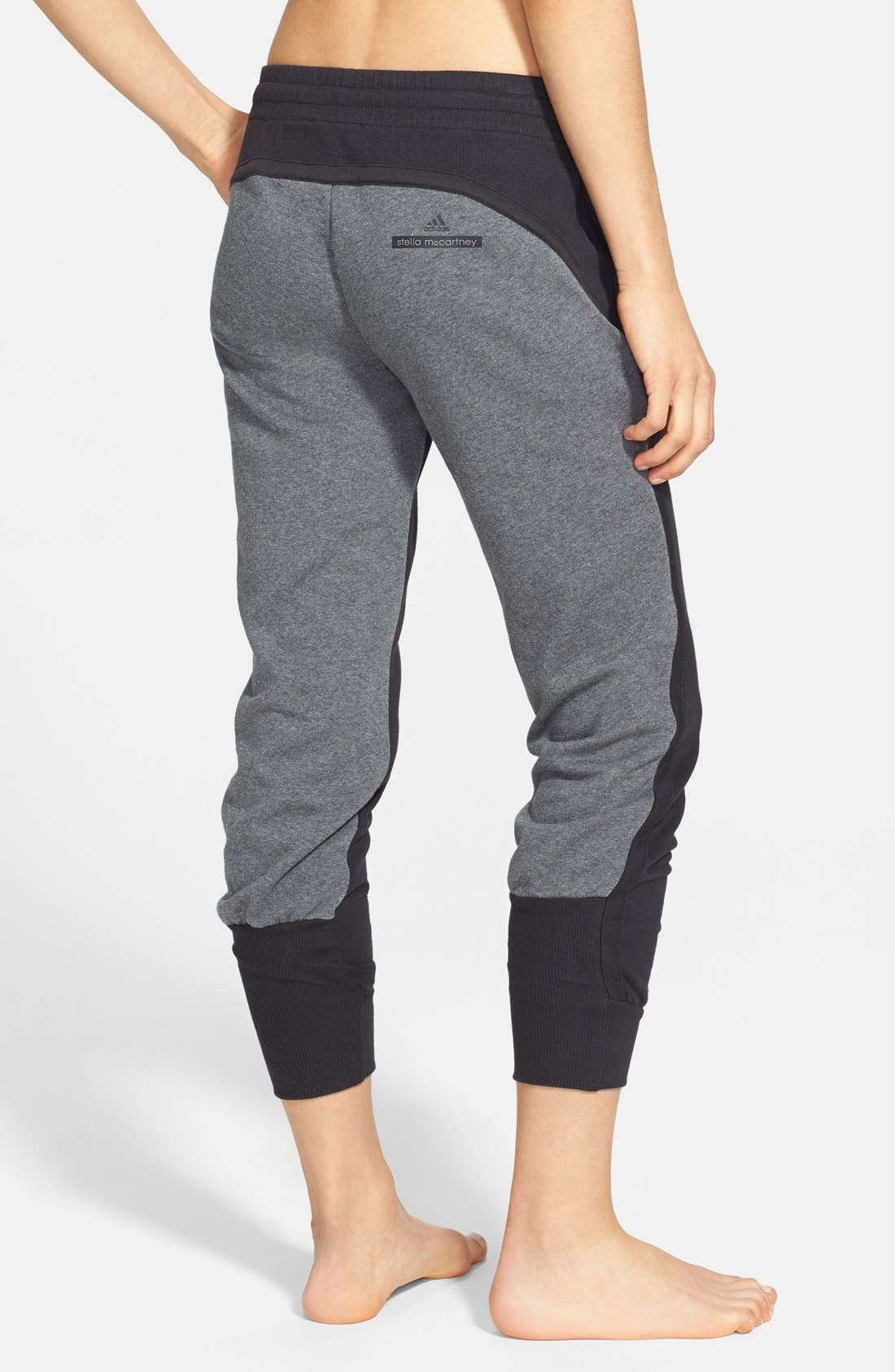 Alternate Image 2  - adidas by Stella McCartney 'Essentials' Colorblock Sweatpants
