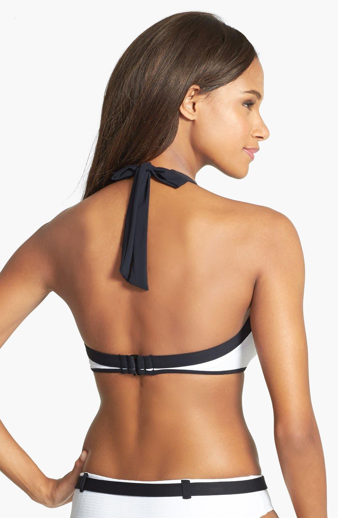 Alternate Image 2  - La Blanca 'Let's Bond' Push-Up Halter Bikini Top