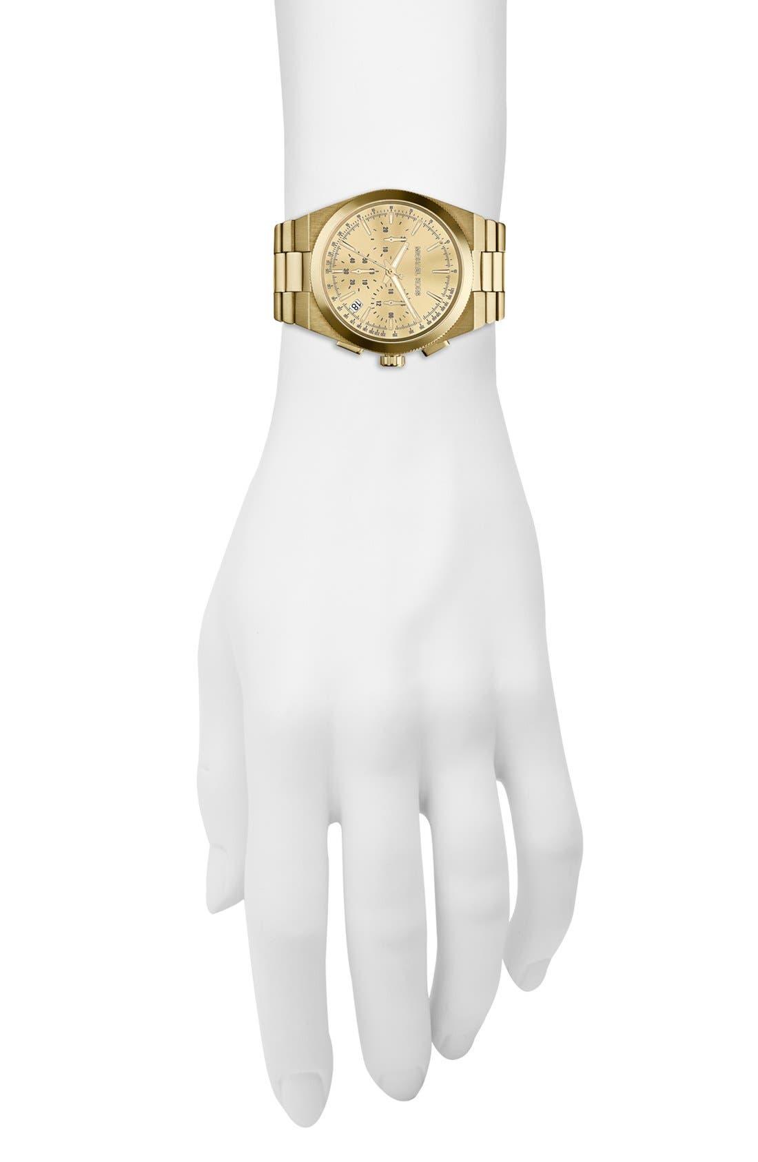 Alternate Image 4  - Michael Kors 'Channing' Chronograph Bracelet Watch, 38mm (Nordstrom Exclusive)