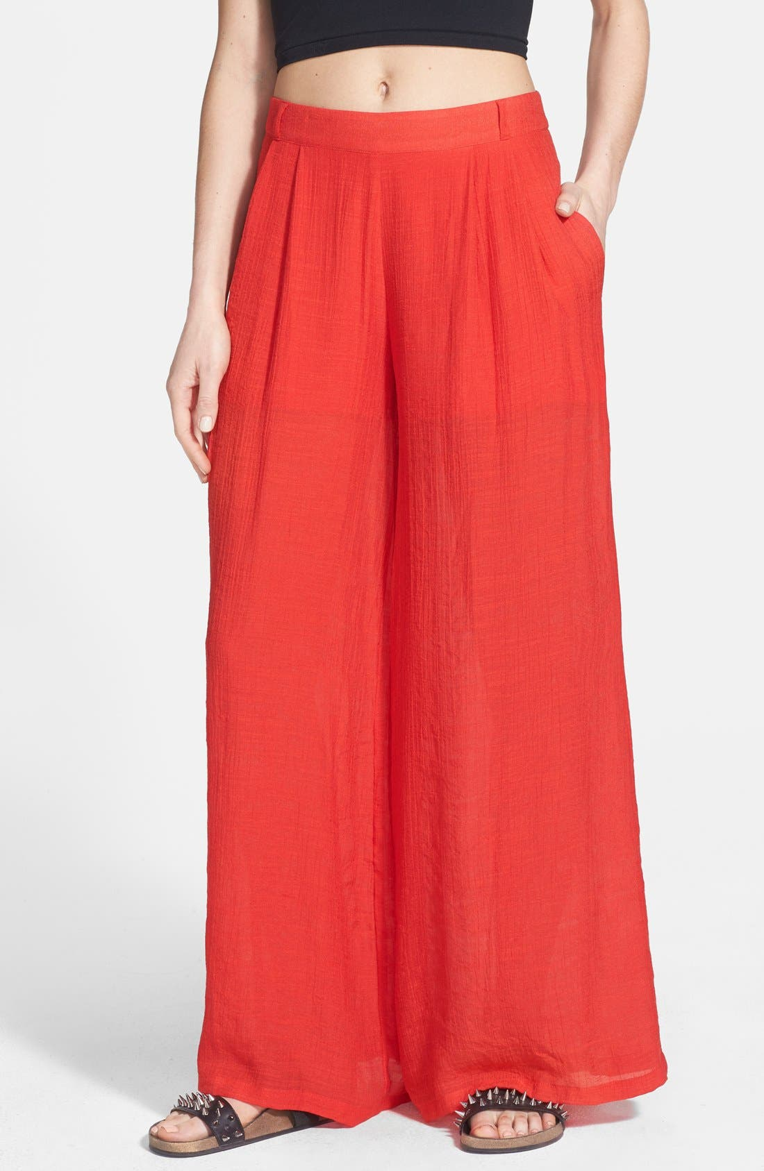 Alternate Image 1 Selected - Rules of Etiquette Palazzo Pants
