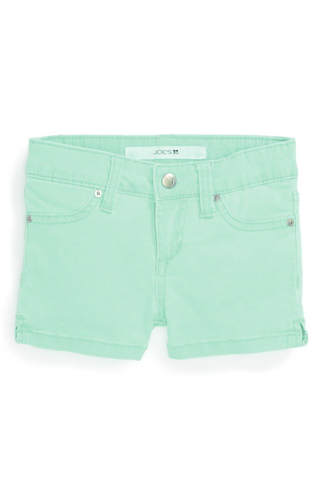 Alternate Image 2  - Joe's Neon Shorts (Toddler Girls)
