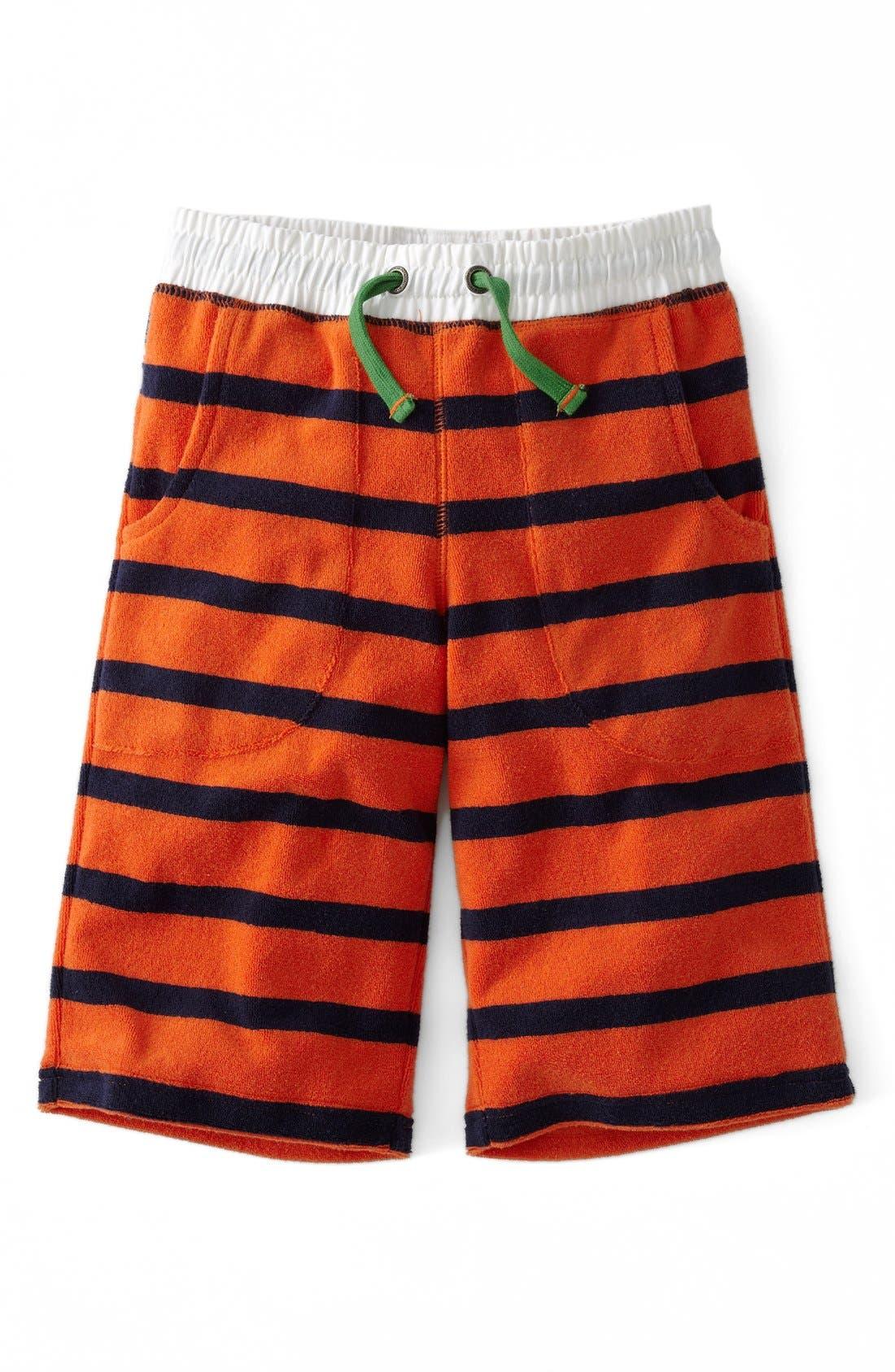 Alternate Image 1 Selected - Mini Boden Towelling Shorts (Toddler Boys, Little Boys & Big Boys)