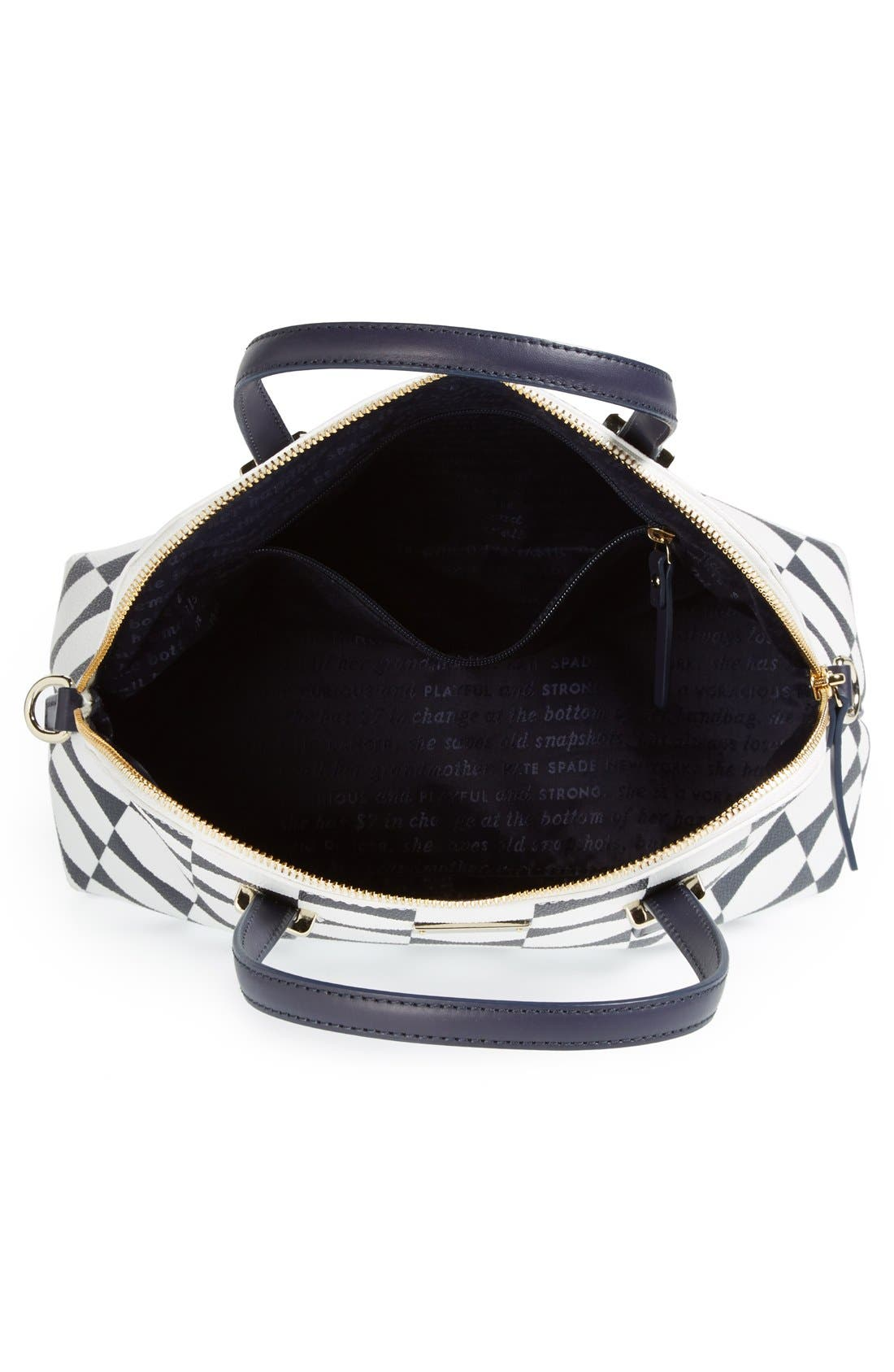 Alternate Image 3  - kate spade new york 'maise - bow tile' satchel