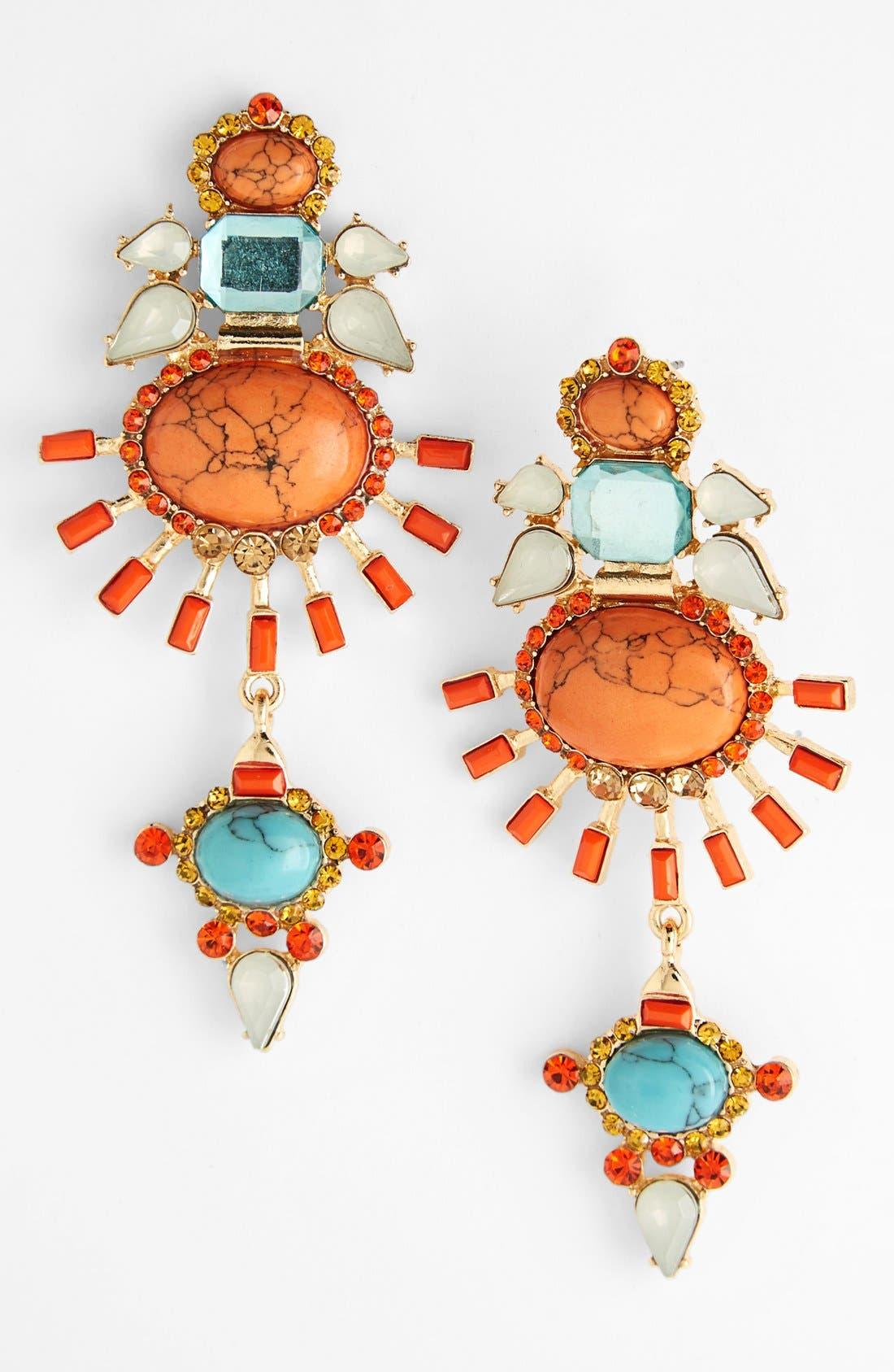 Main Image - Guinevere Pendant Earrings