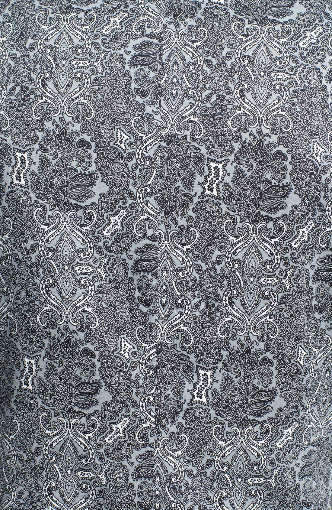 Alternate Image 3  - Topman Skinny Fit Paisley Print Suit Jacket
