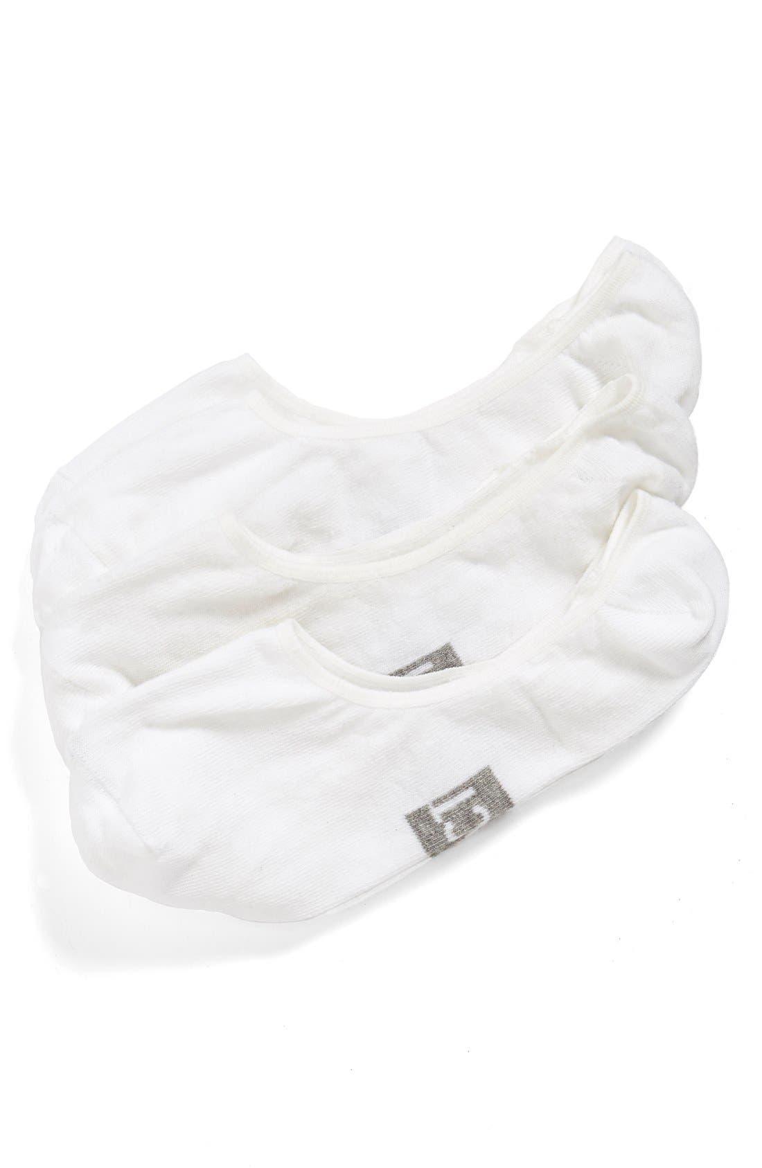 Main Image - PACT Organic Cotton No-Show Socks (3-Pack)