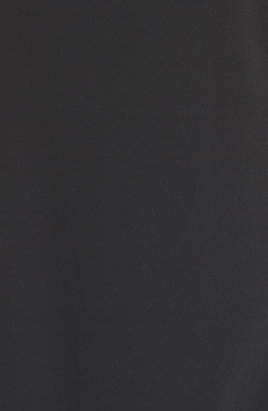 Alternate Image 3  - Eileen Fisher Sheer Shoulder A-Line Silk Shift Dress (Regular & Petite)