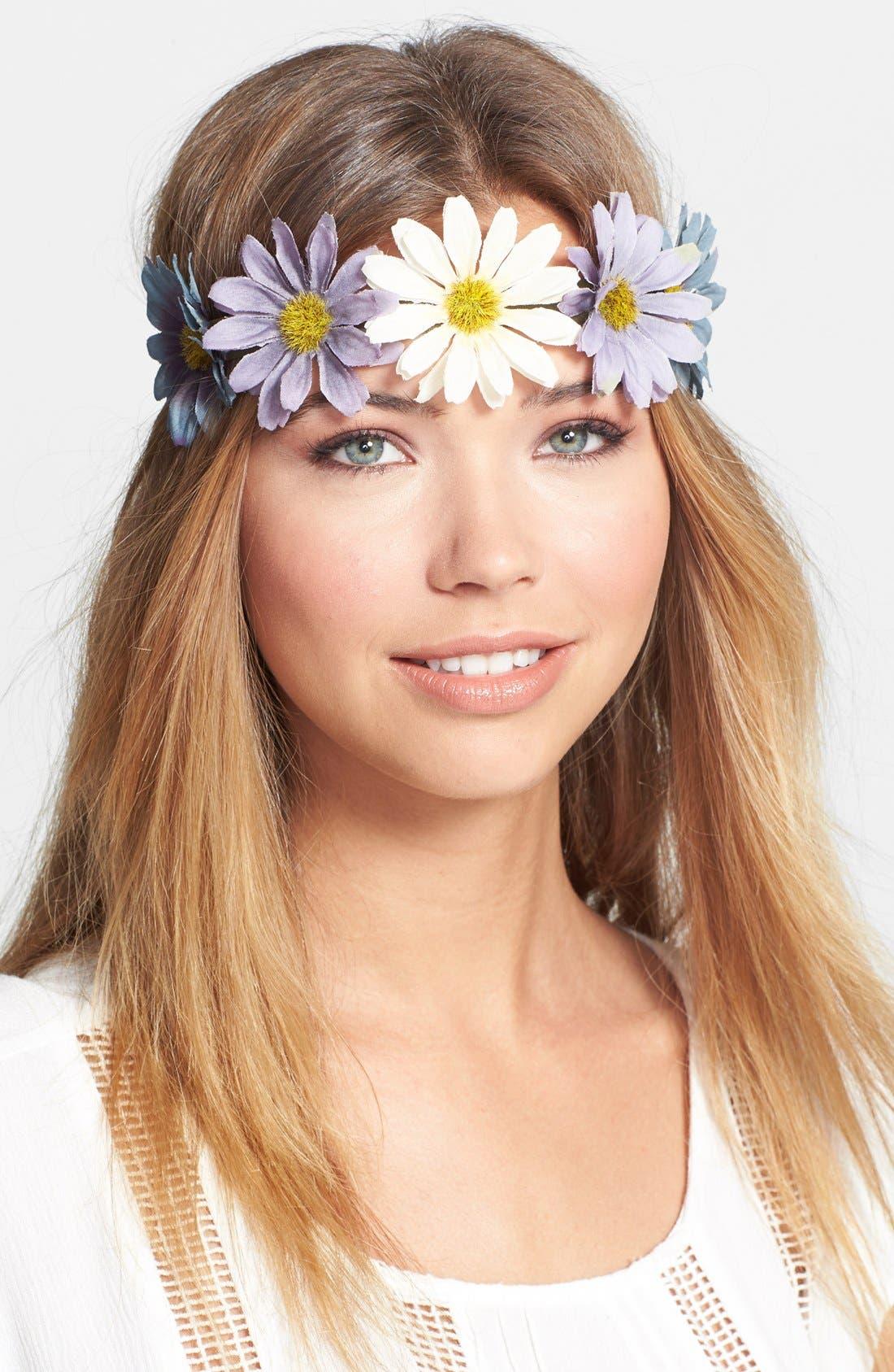 Alternate Image 1 Selected - Cara 'Oh My Garden' Head Wrap
