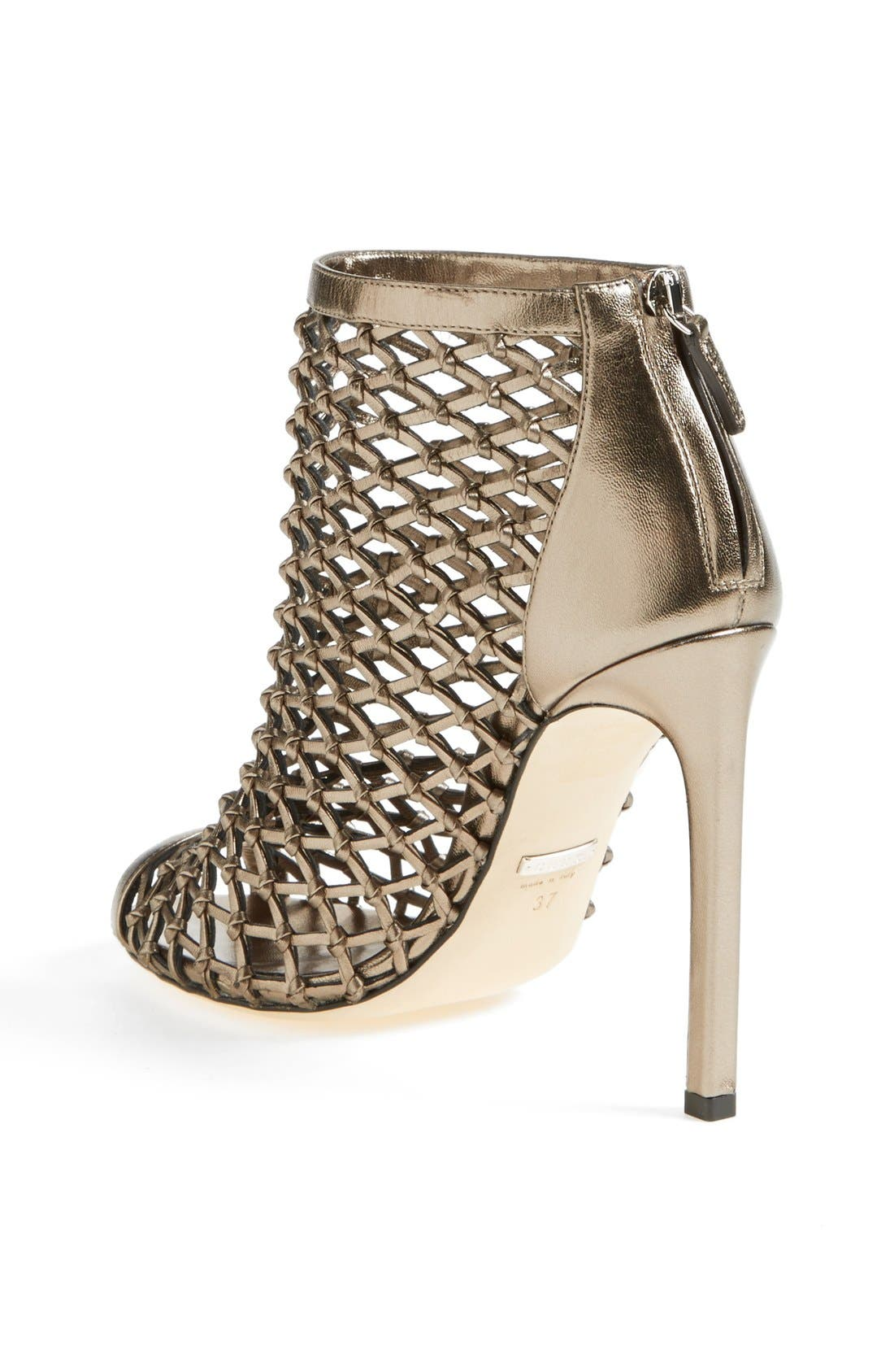 Alternate Image 2  - Gucci 'Eline' Studded Cage Open Toe Sandal
