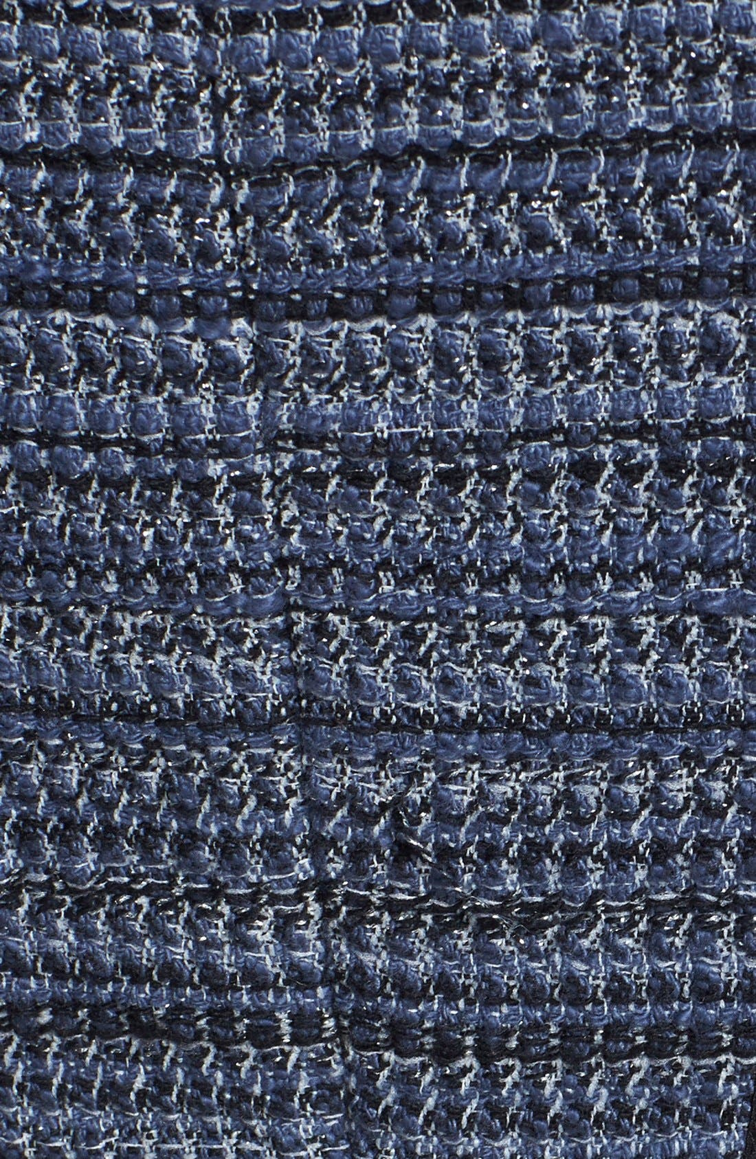 Alternate Image 3  - Rebecca Taylor Lace & Tweed A-Line Dress