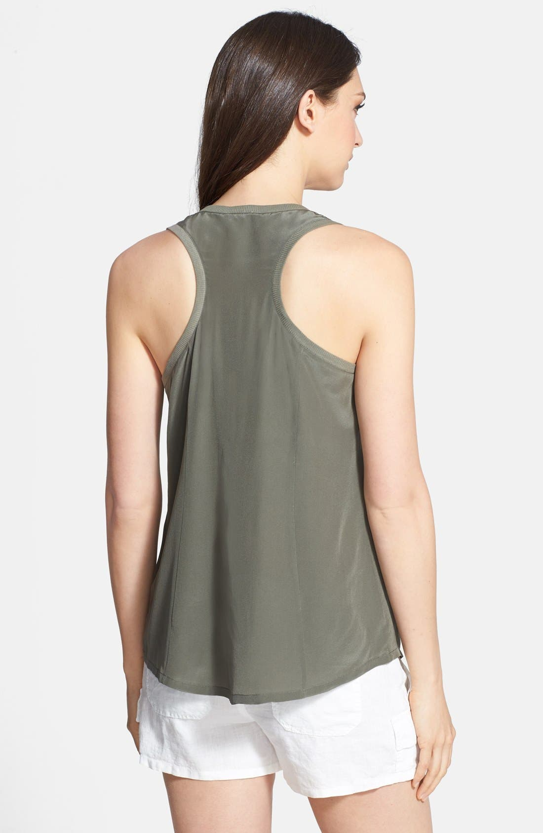 Alternate Image 2  - Joie 'Alicia' Racerback Silk Tank