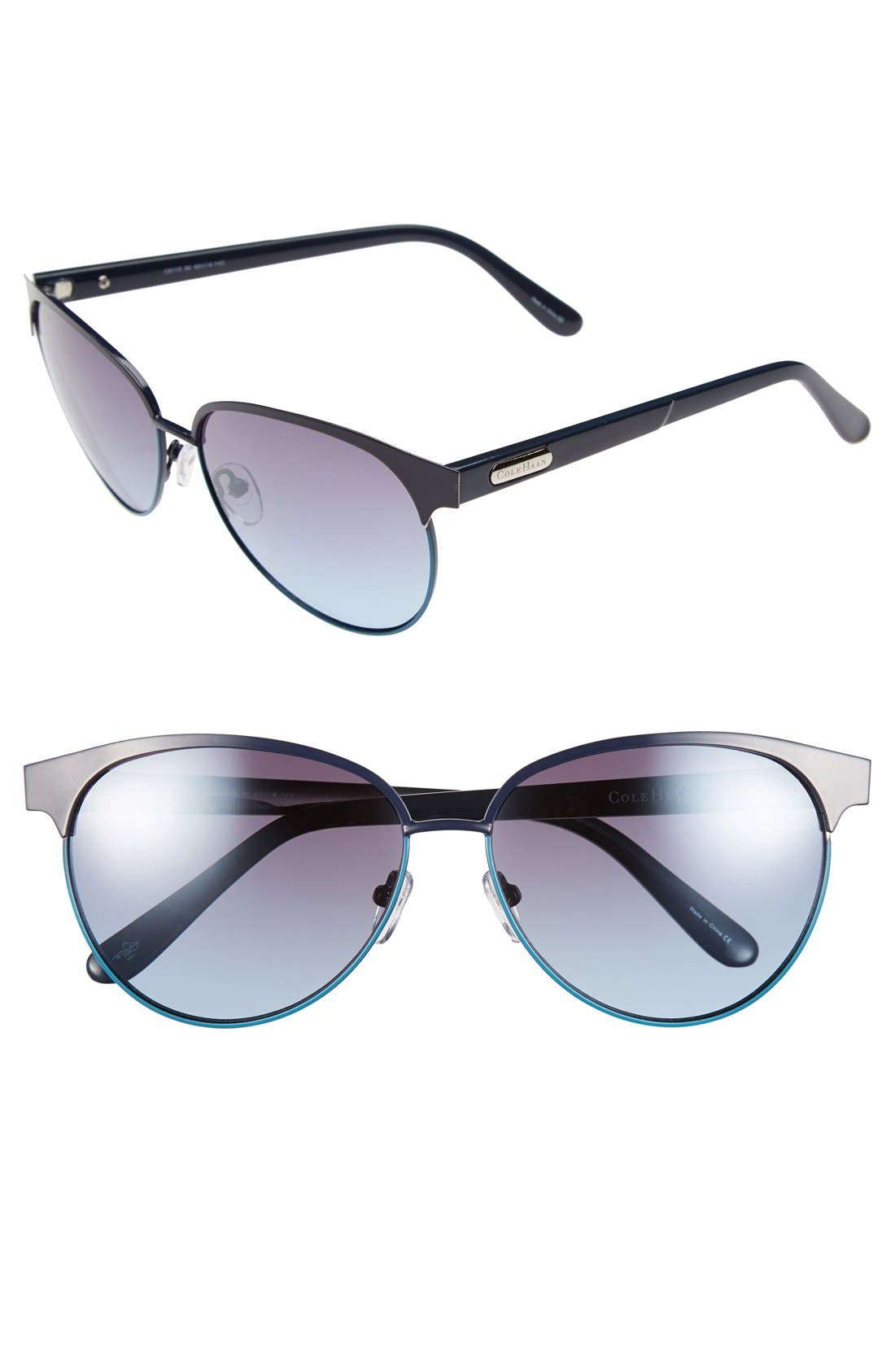 Main Image - Cole Haan 59mm Cat Eye Sunglasses