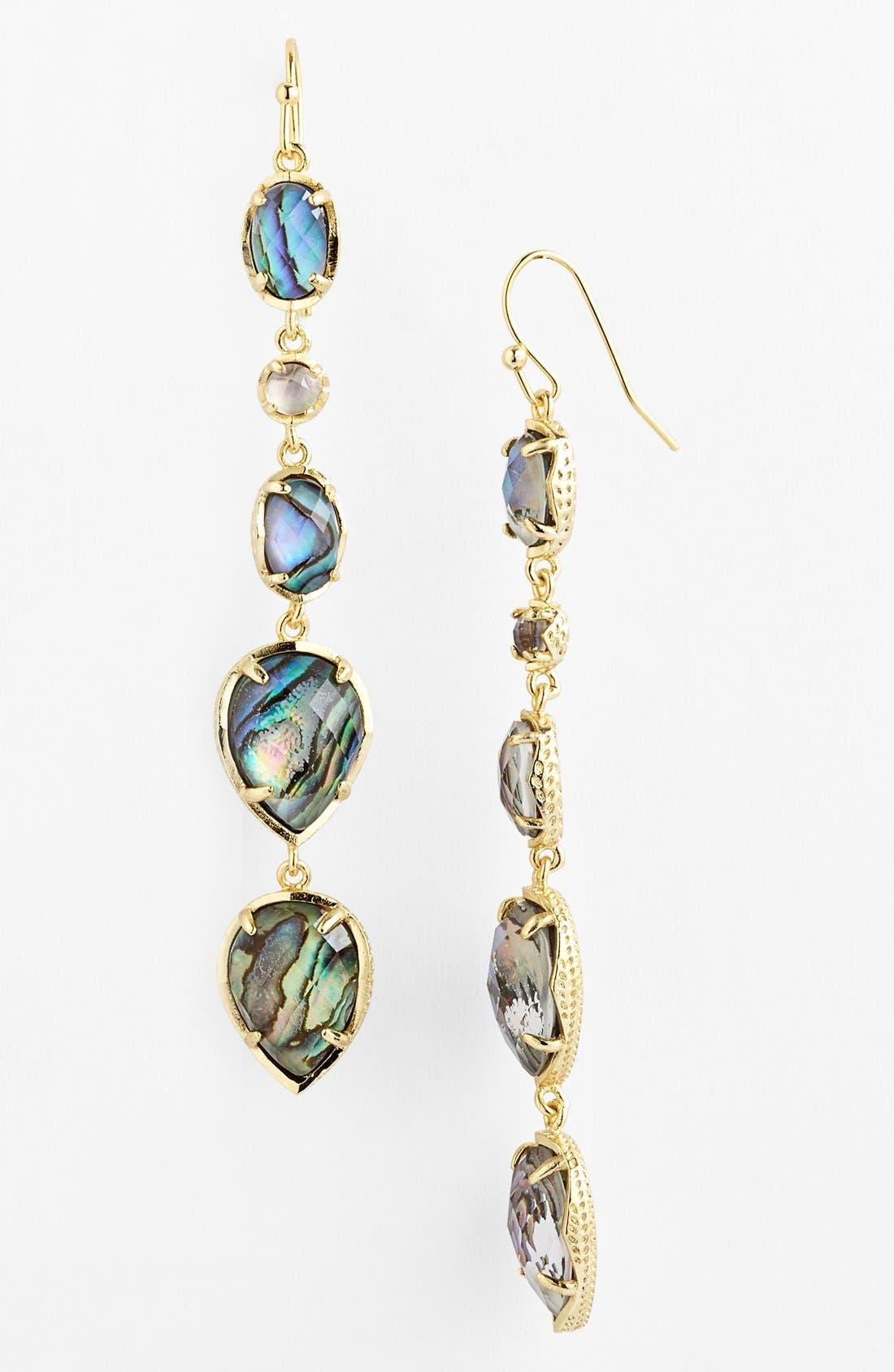 Alternate Image 1 Selected - Kendra Scott 'Byron' Linear Earrings