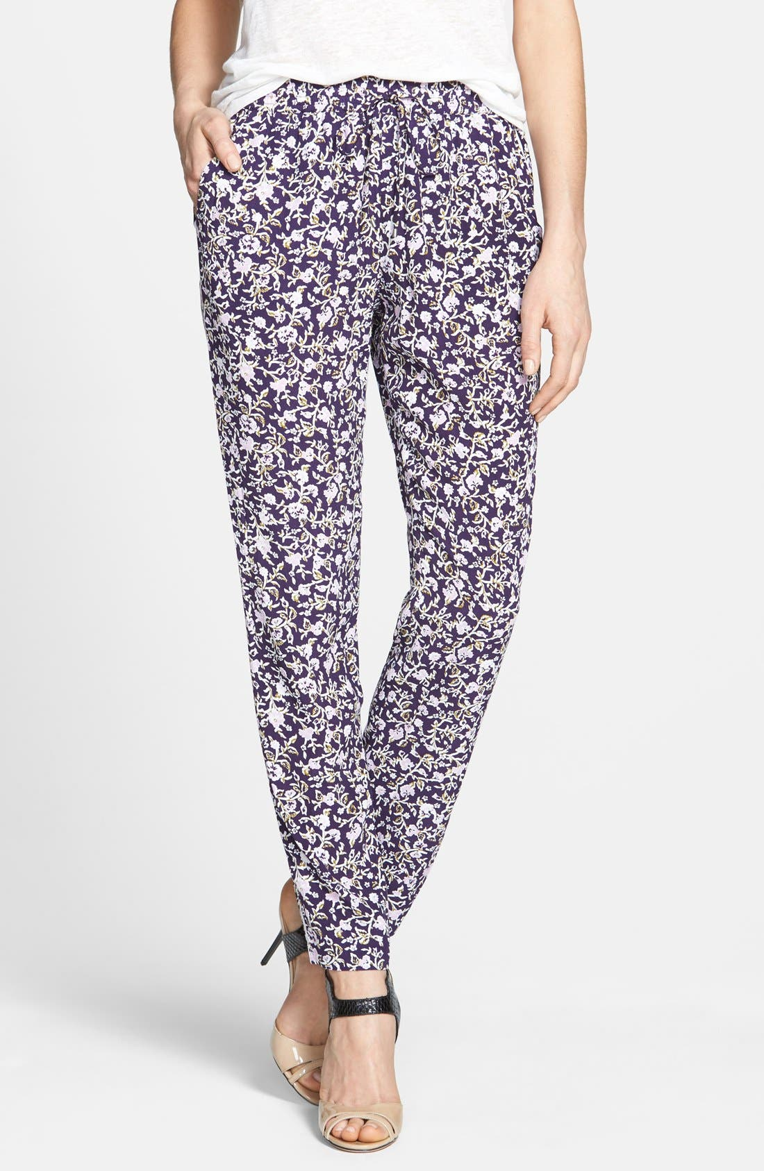 Alternate Image 1 Selected - Rebecca Taylor Floral Pants