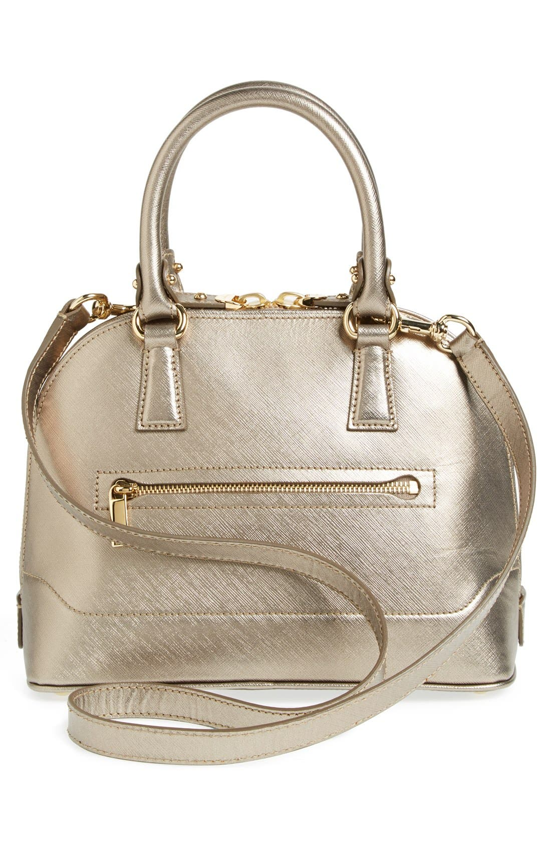 Alternate Image 3  - Salvatore Ferragamo 'Mini Darina' Dome Satchel