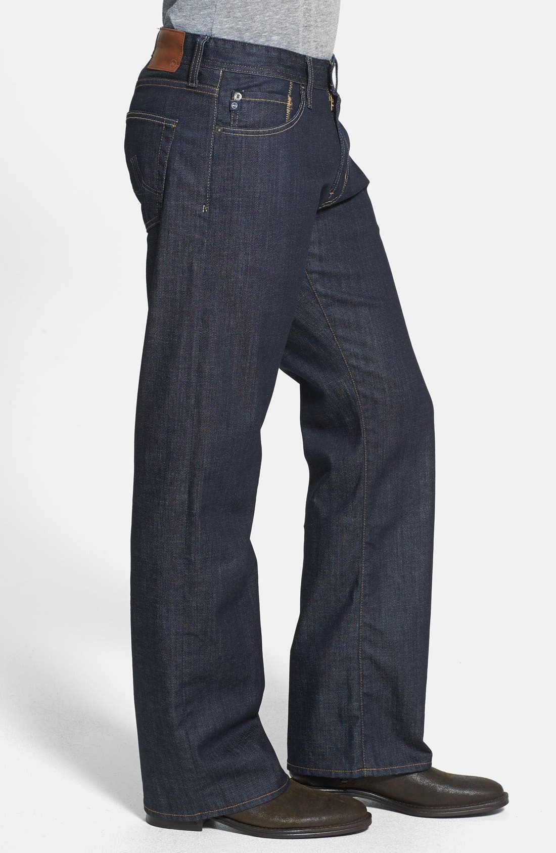 Alternate Image 3  - AG 'Hero' Relaxed Fit Jeans (Trench)