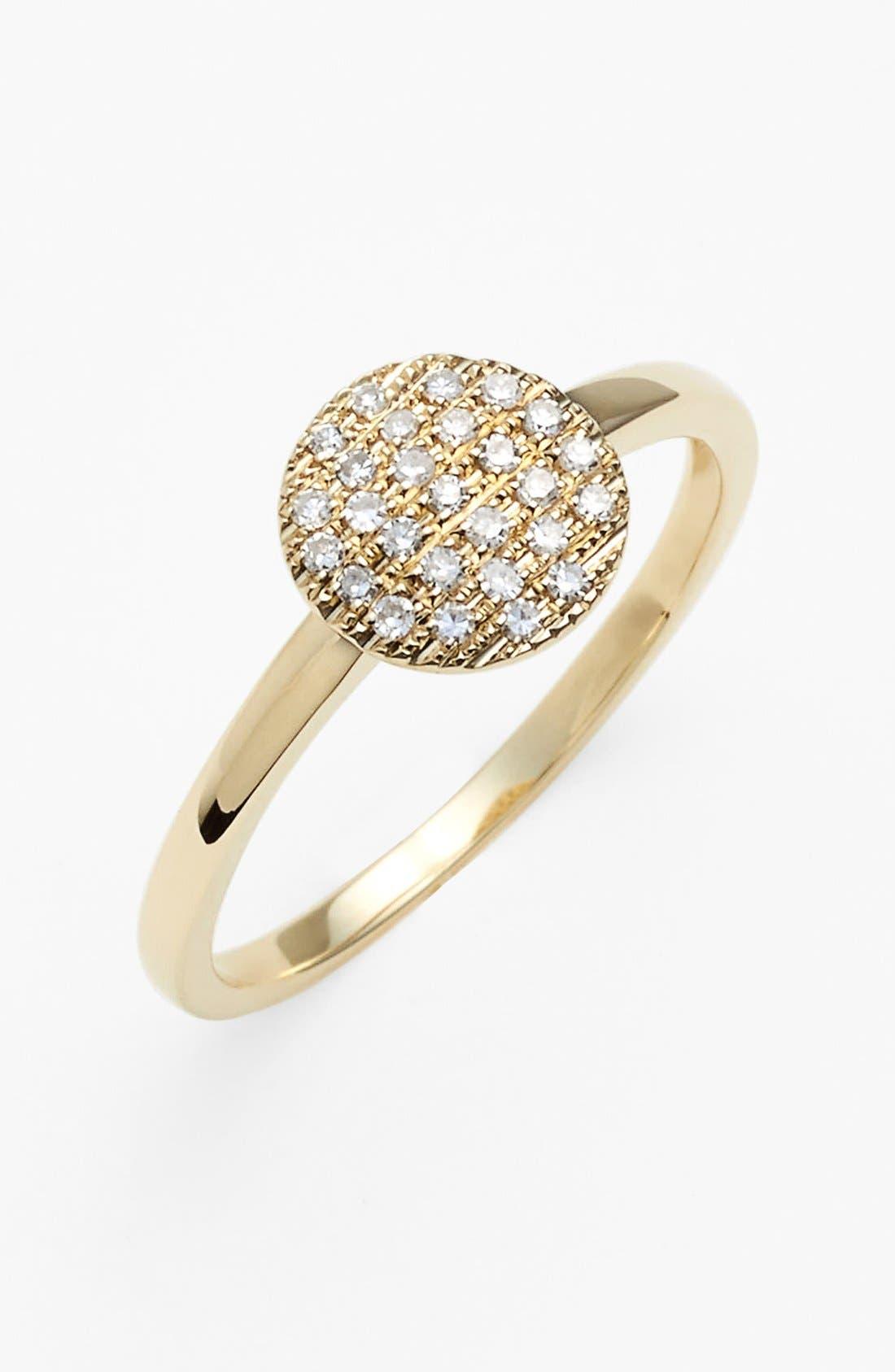 Alternate Image 1 Selected - Dana Rebecca Designs 'Lauren Joy' Diamond Ring