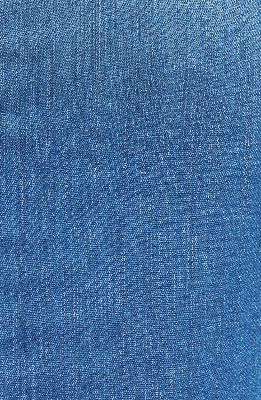 Alternate Image 3  - Hudson Jeans Side Zip Denim Skirt
