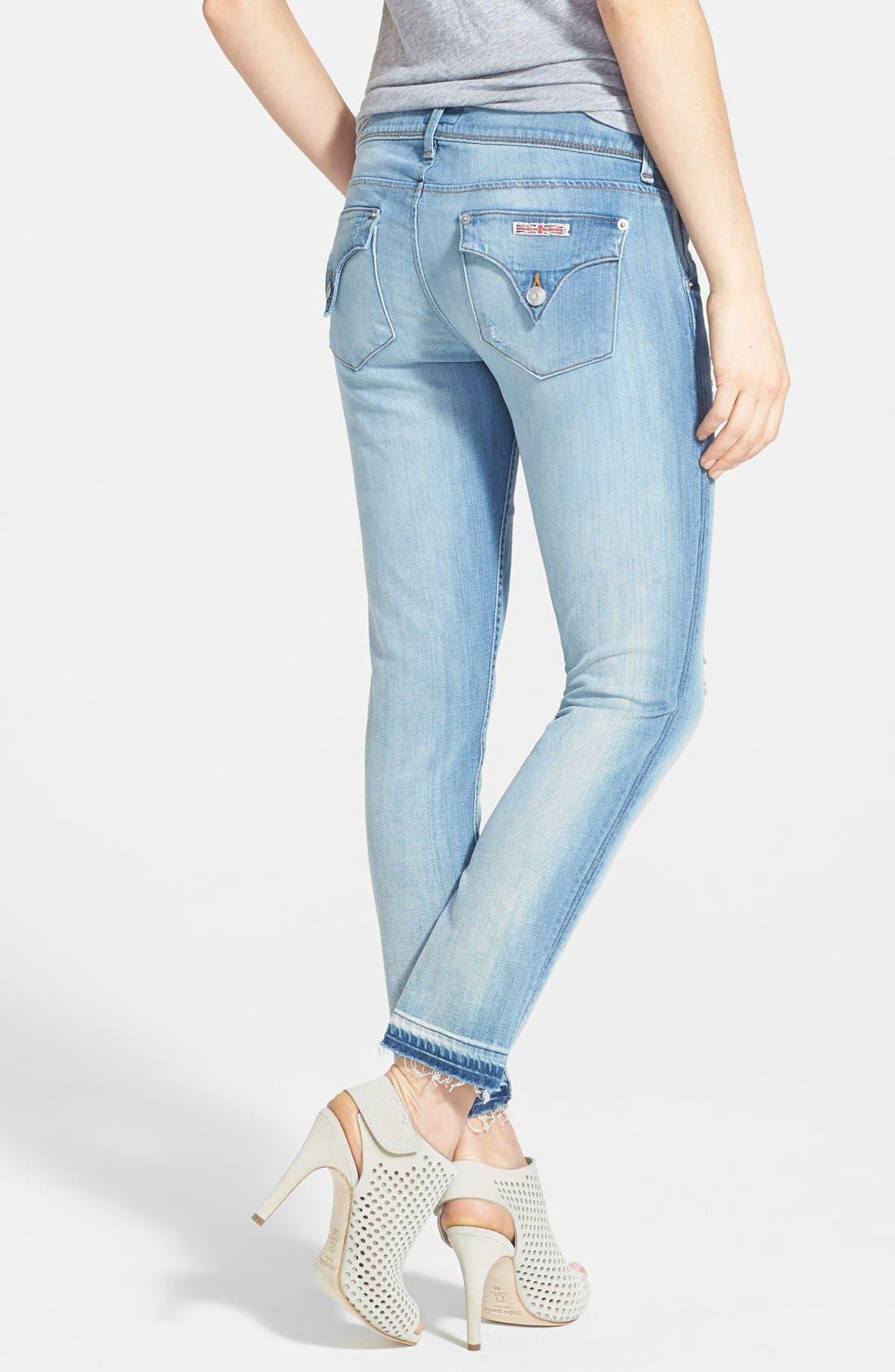 Alternate Image 2  - Hudson Jeans 'Collin' Crop Skinny Jeans (Ladyland)