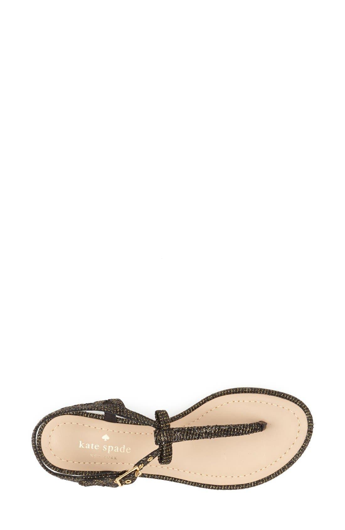 Alternate Image 3  - kate spade new york 'andrea' flat thong sandal