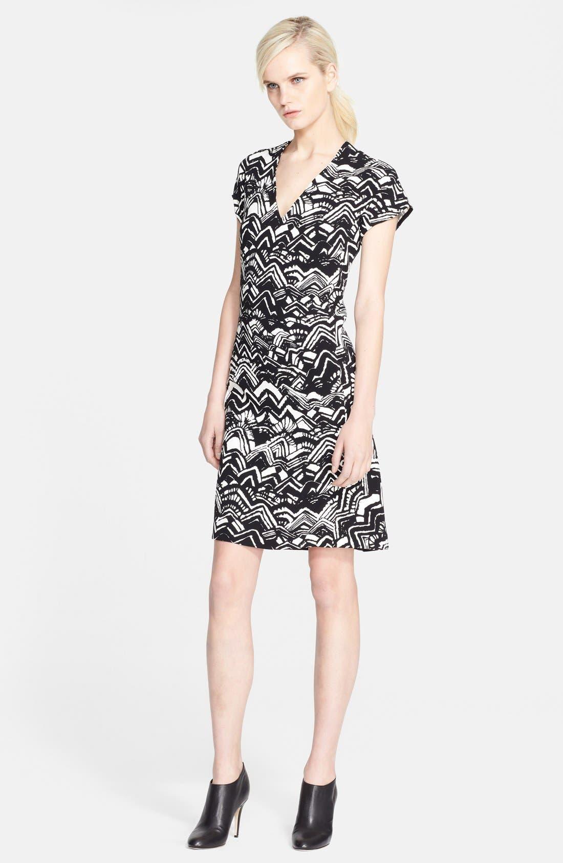 Alternate Image 1 Selected - Missoni V-Neck Print Dress