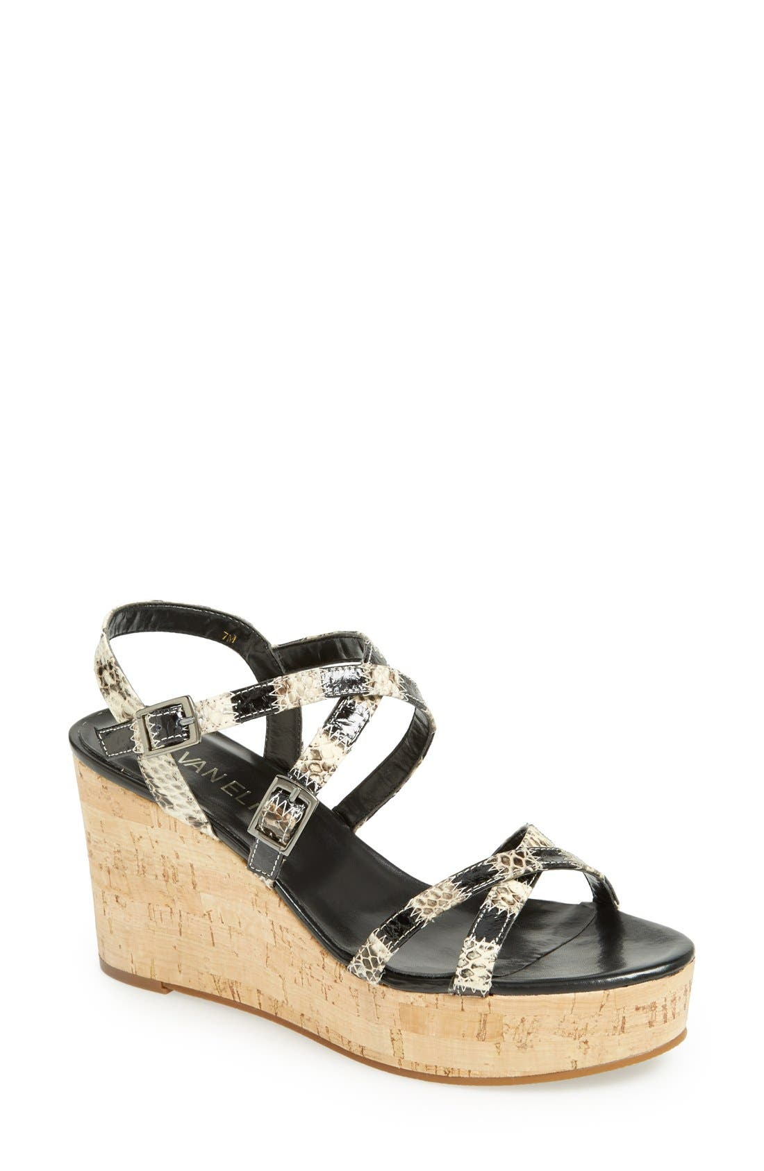 Alternate Image 1 Selected - VANELi 'Polar' Wedge Sandal