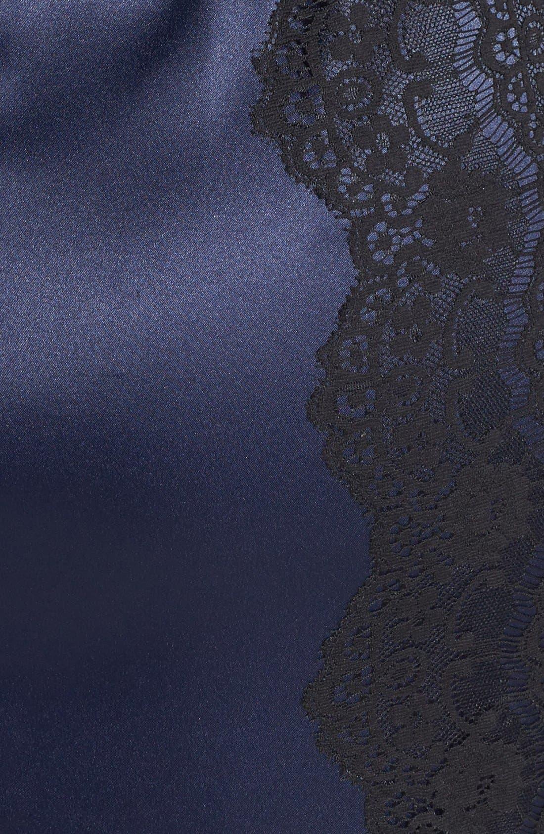 Alternate Image 4  - Jessica Simpson Structured Lace & Satin Body-Con Dress