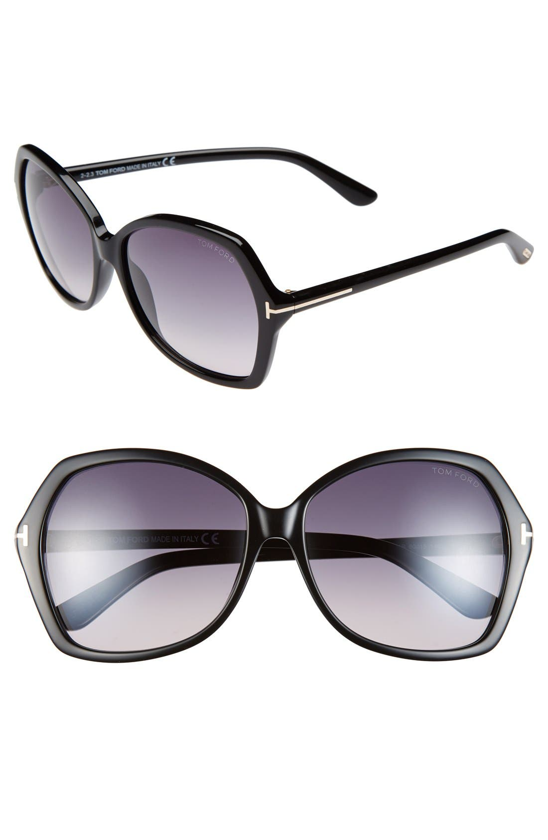 Tom Ford Carola 60mm Sunglasses